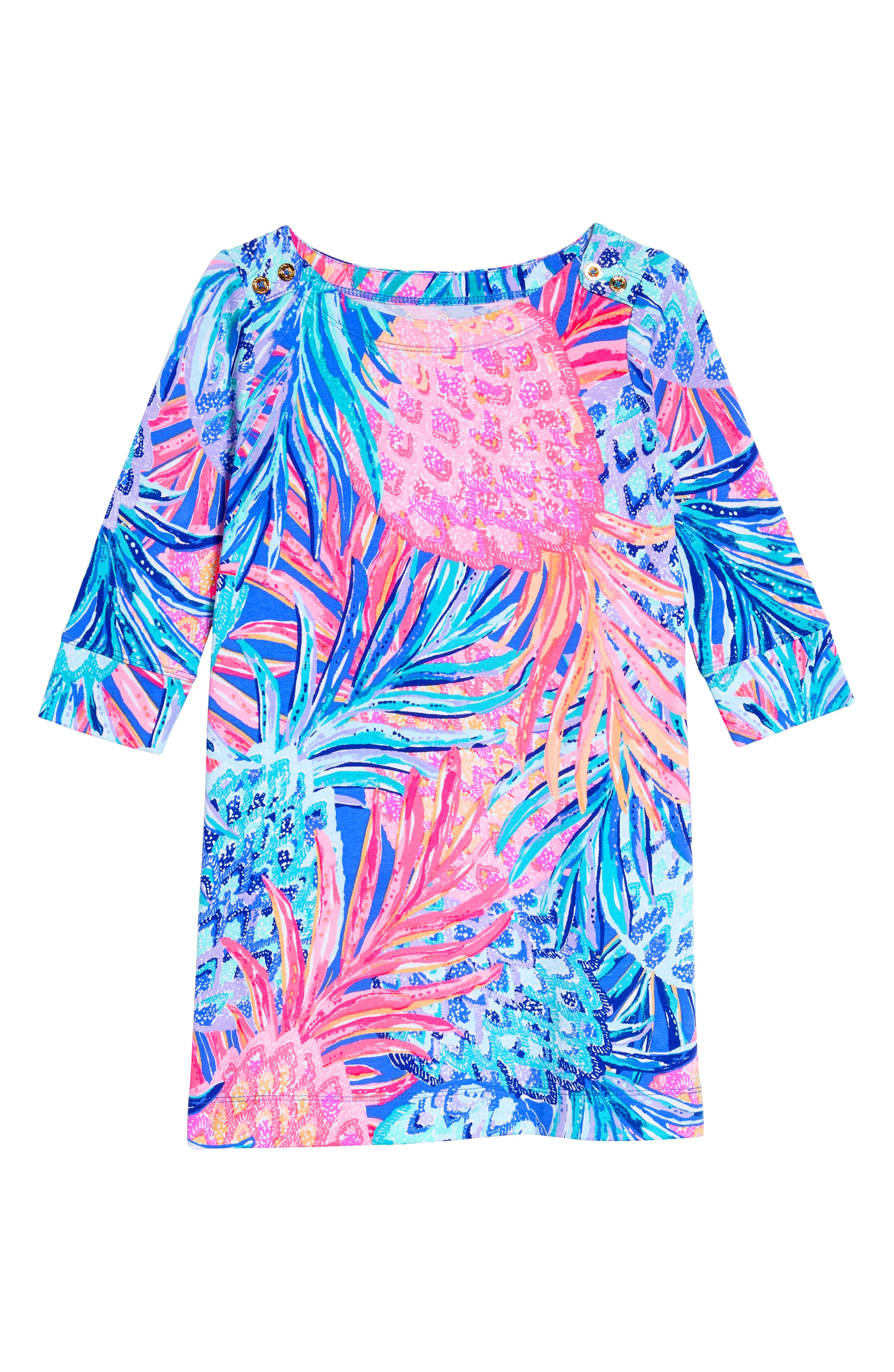 Lilly Pulitzer® Mini Sophie UPF 50+ Dress (Toddler Girls, Little Girls & Big Girls)