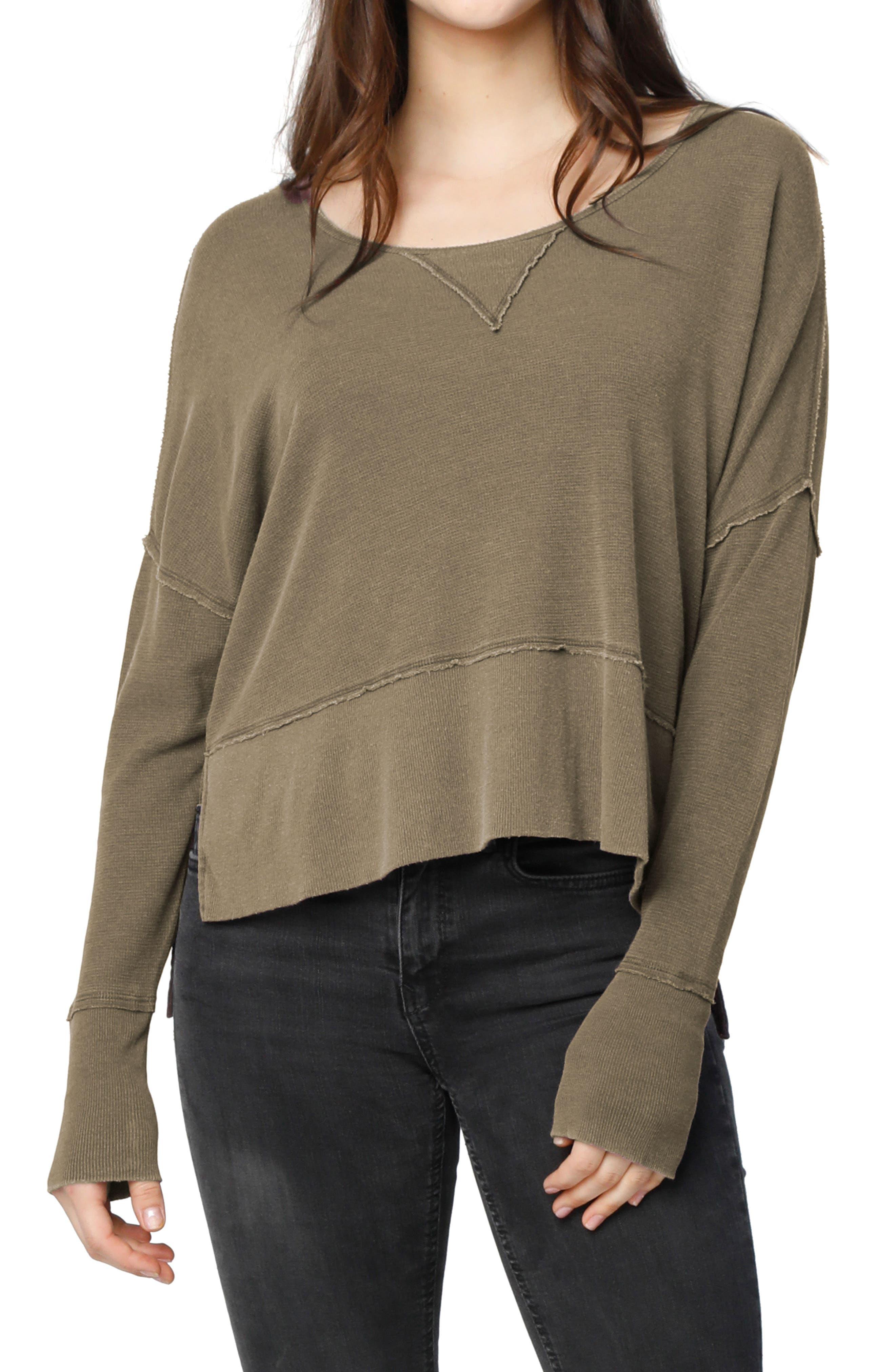 Lori Drop Shoulder Top,                         Main,                         color, Musk