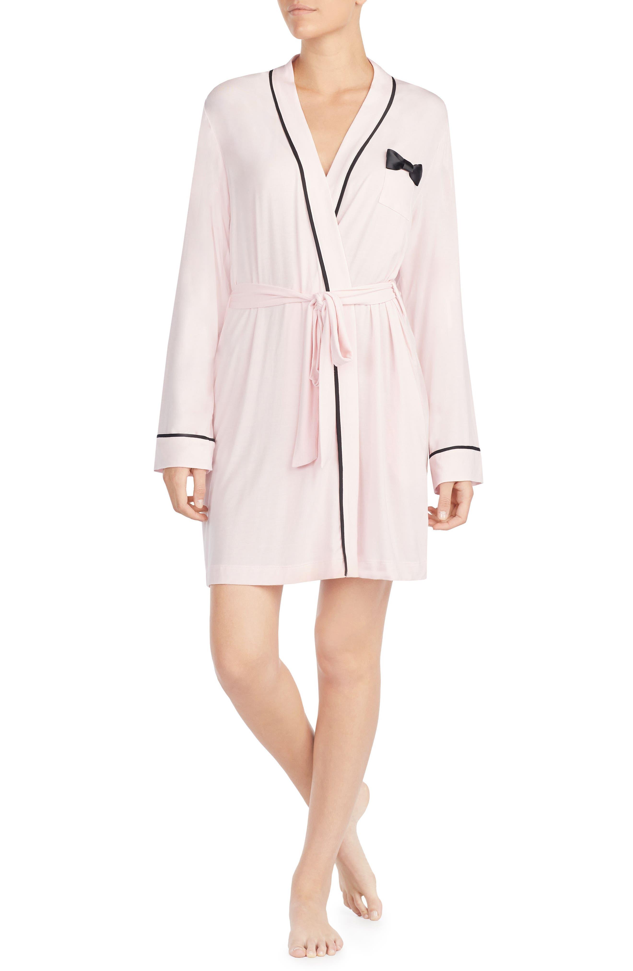kate spade new york jersey short robe
