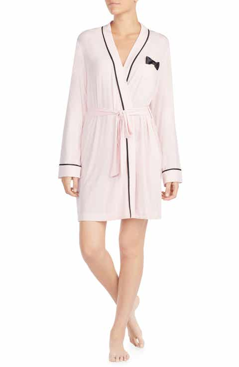 kate spade new york jersey short robe Compare Price