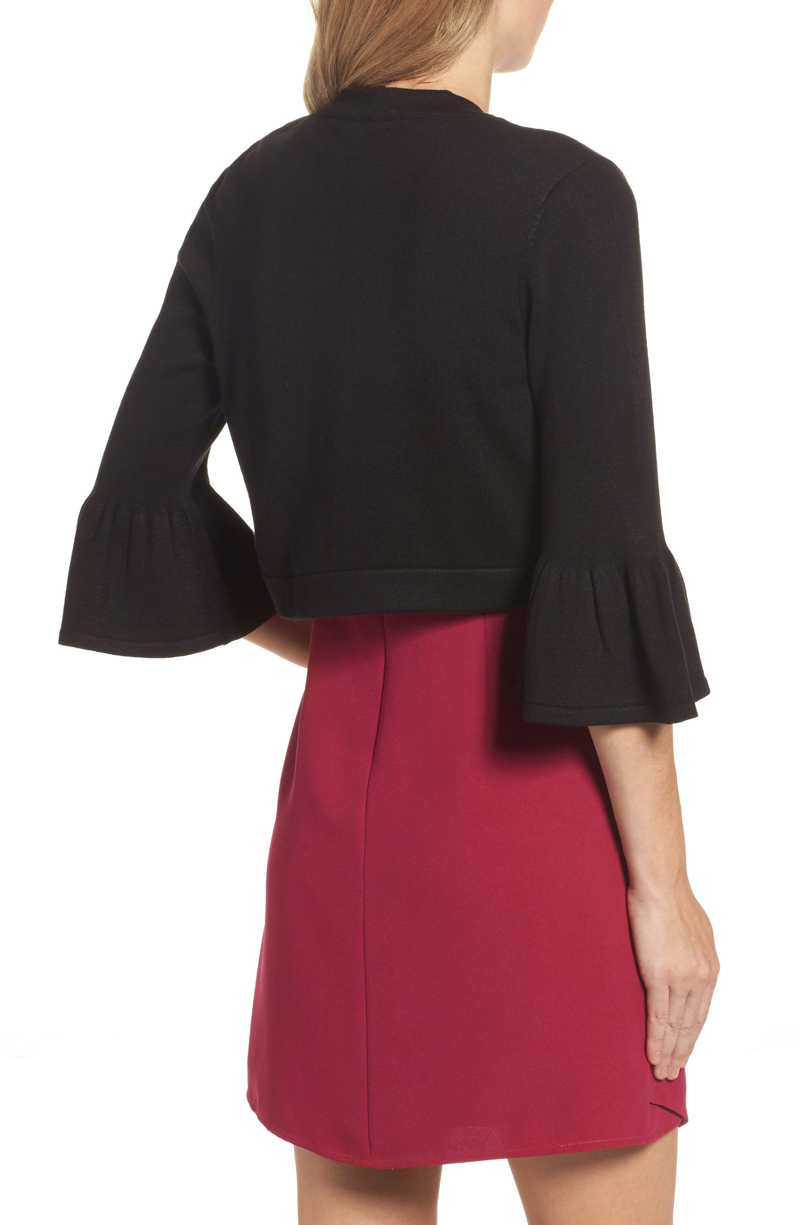 Alternate Image 2  - Eliza J Bell Sleeve Bolero