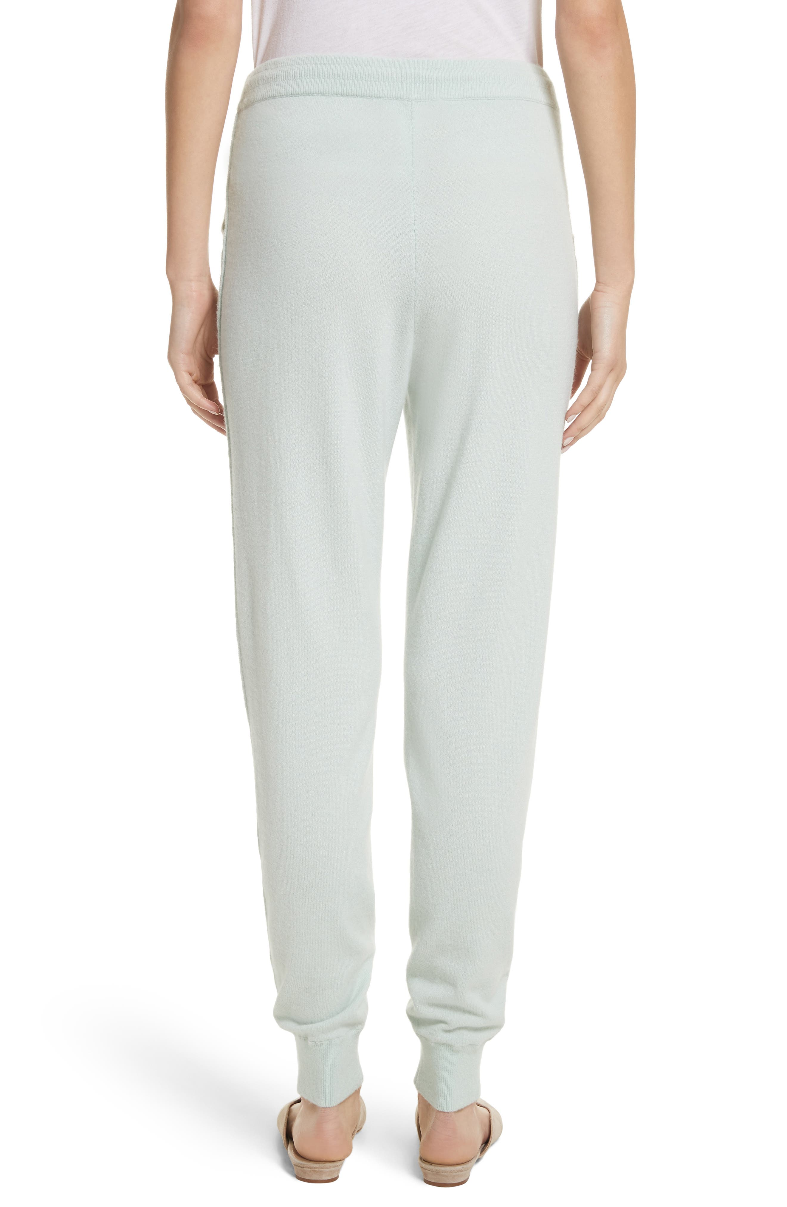 Cashmere Jersey Sweatpants,                             Alternate thumbnail 2, color,                             Mint