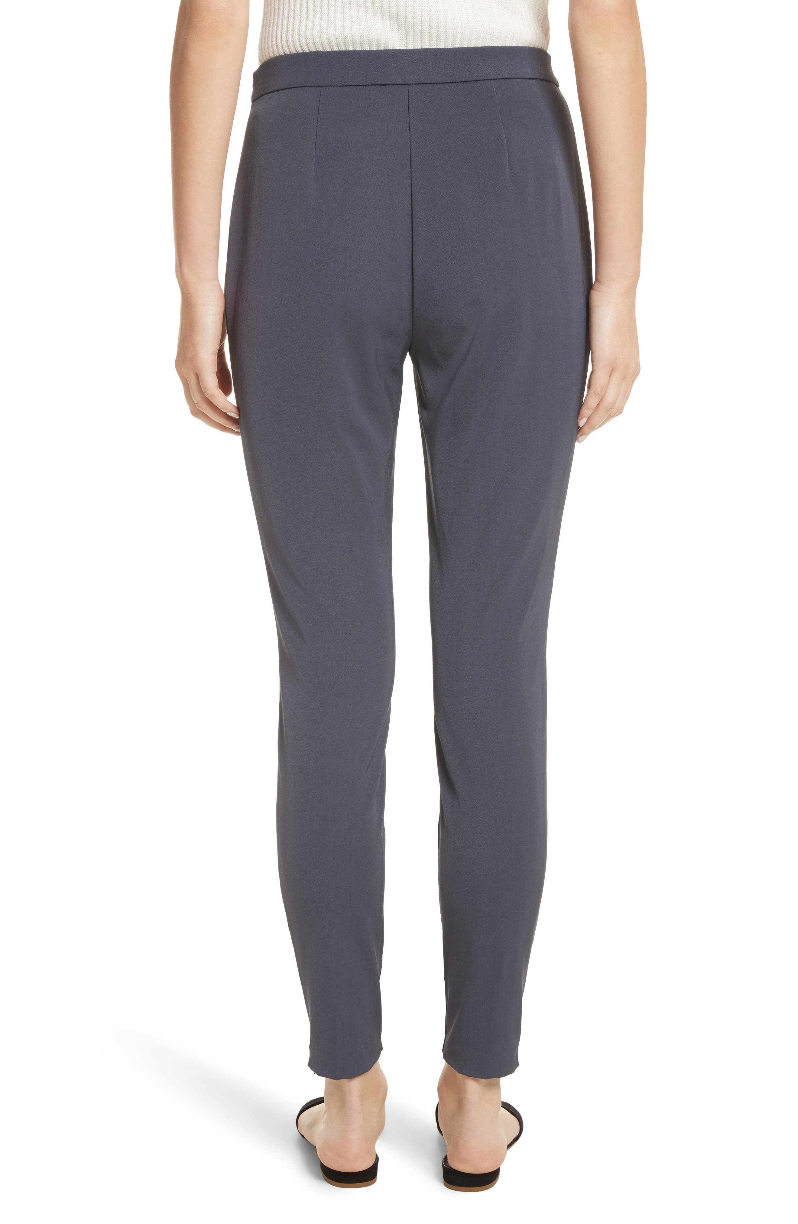 Stretch Tech Twill Pants,                             Alternate thumbnail 2, color,                             Anthracite