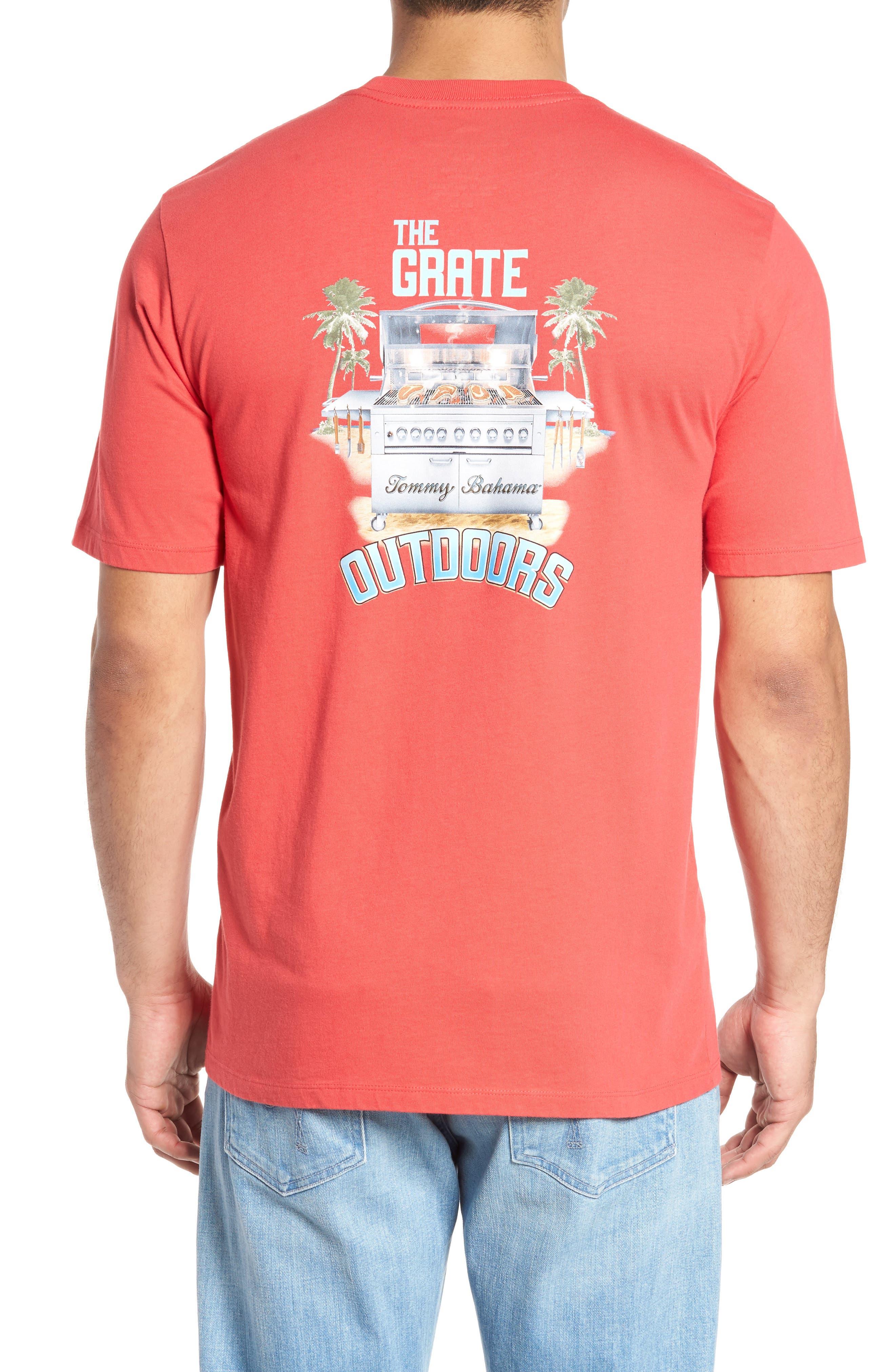Grate Outdoors T-Shirt,                             Alternate thumbnail 2, color,                             Pomodoro