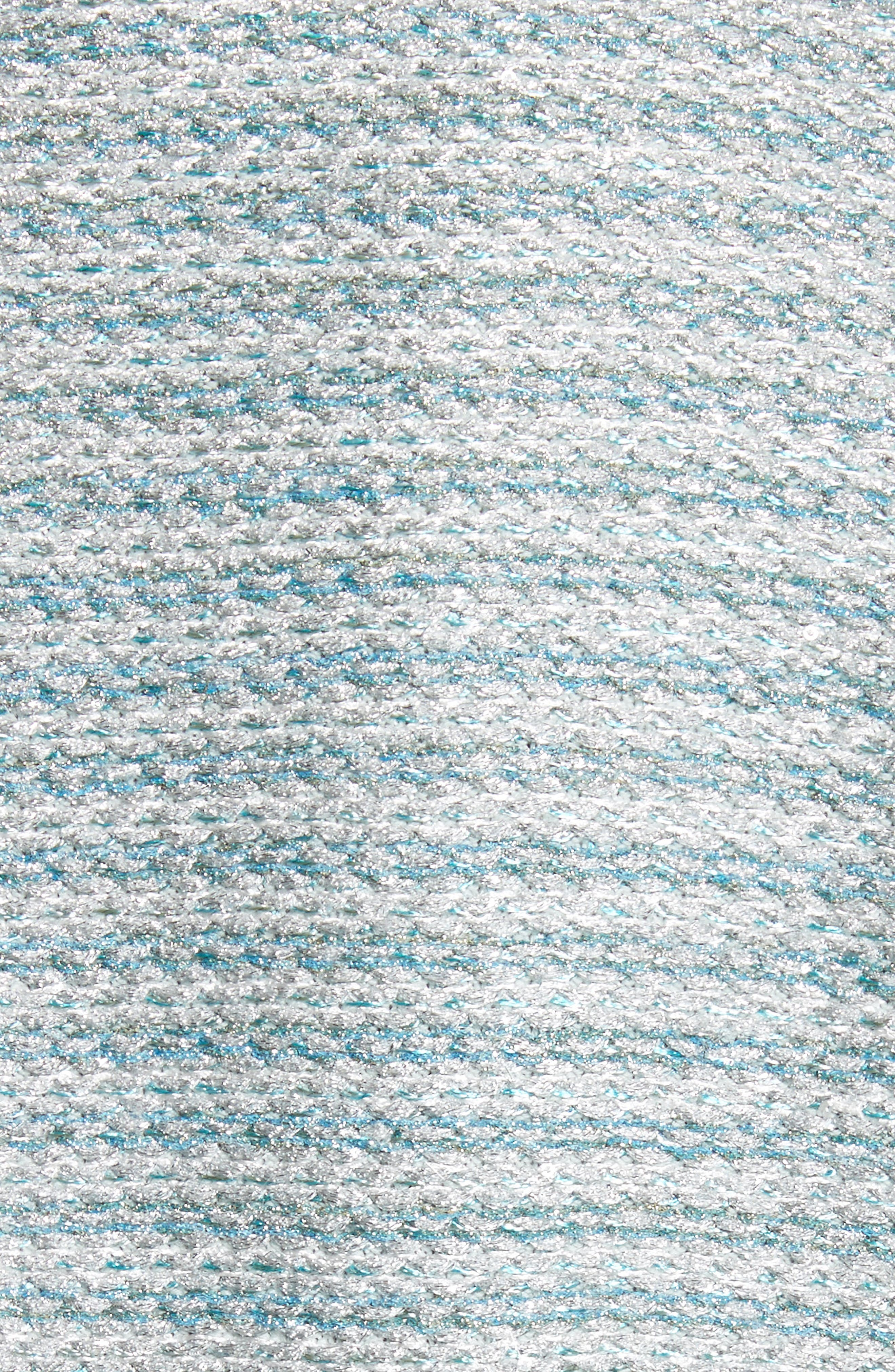 Gleam Metallic Knit Bolero,                             Alternate thumbnail 6, color,                             Mint Multi