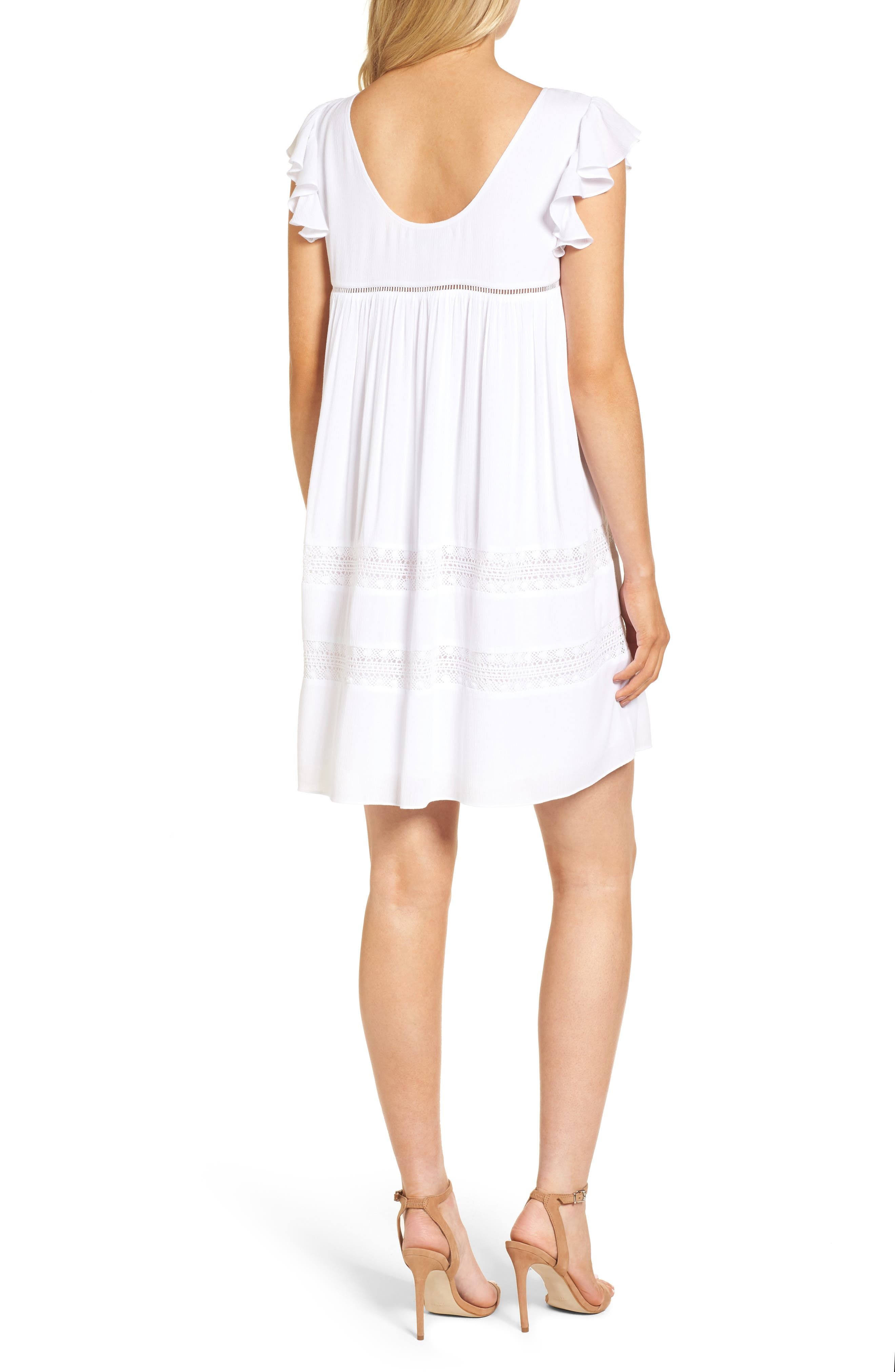 Boca Dress,                             Alternate thumbnail 2, color,                             White