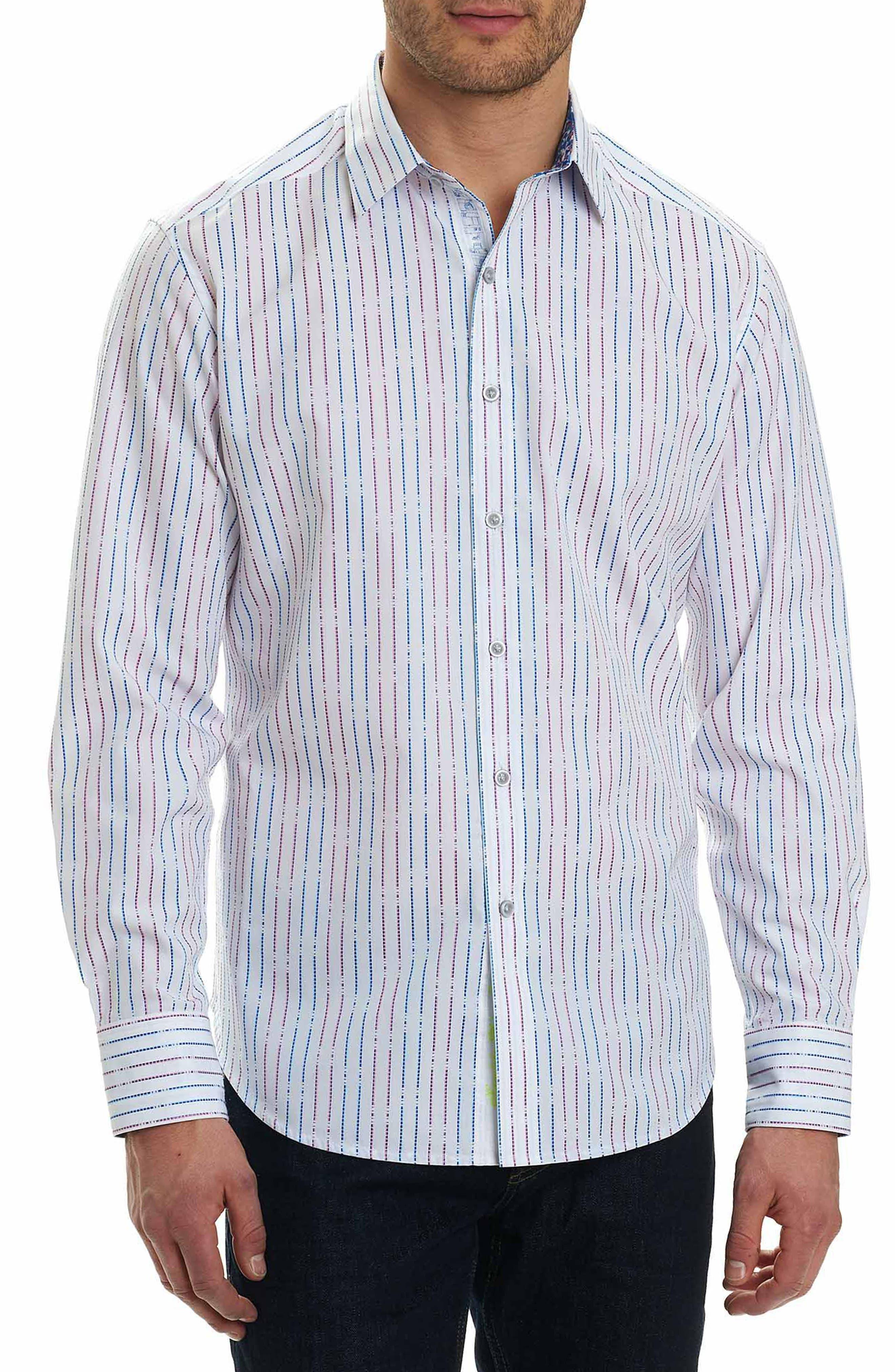 Bora Classic Fit Sport Shirt,                             Main thumbnail 1, color,                             White