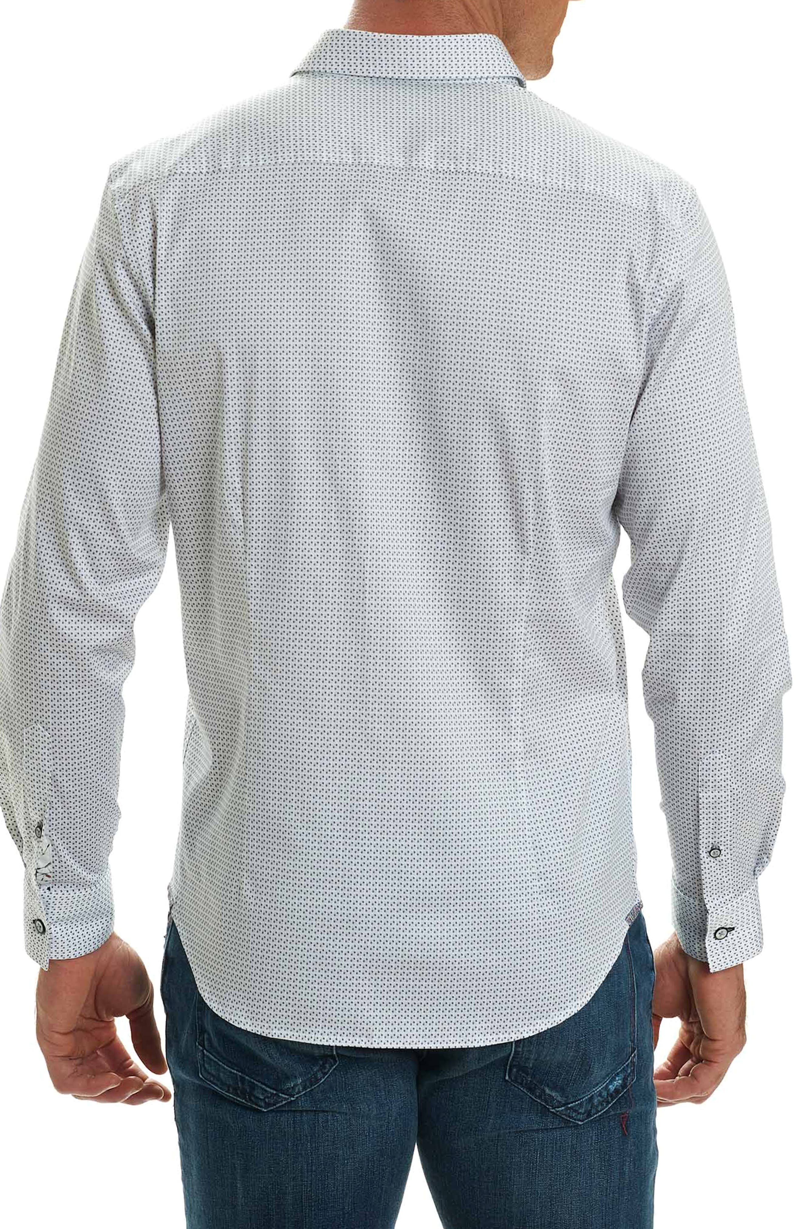 Alternate Image 2  - Robert Graham Stone Classic Fit Print Sport Shirt