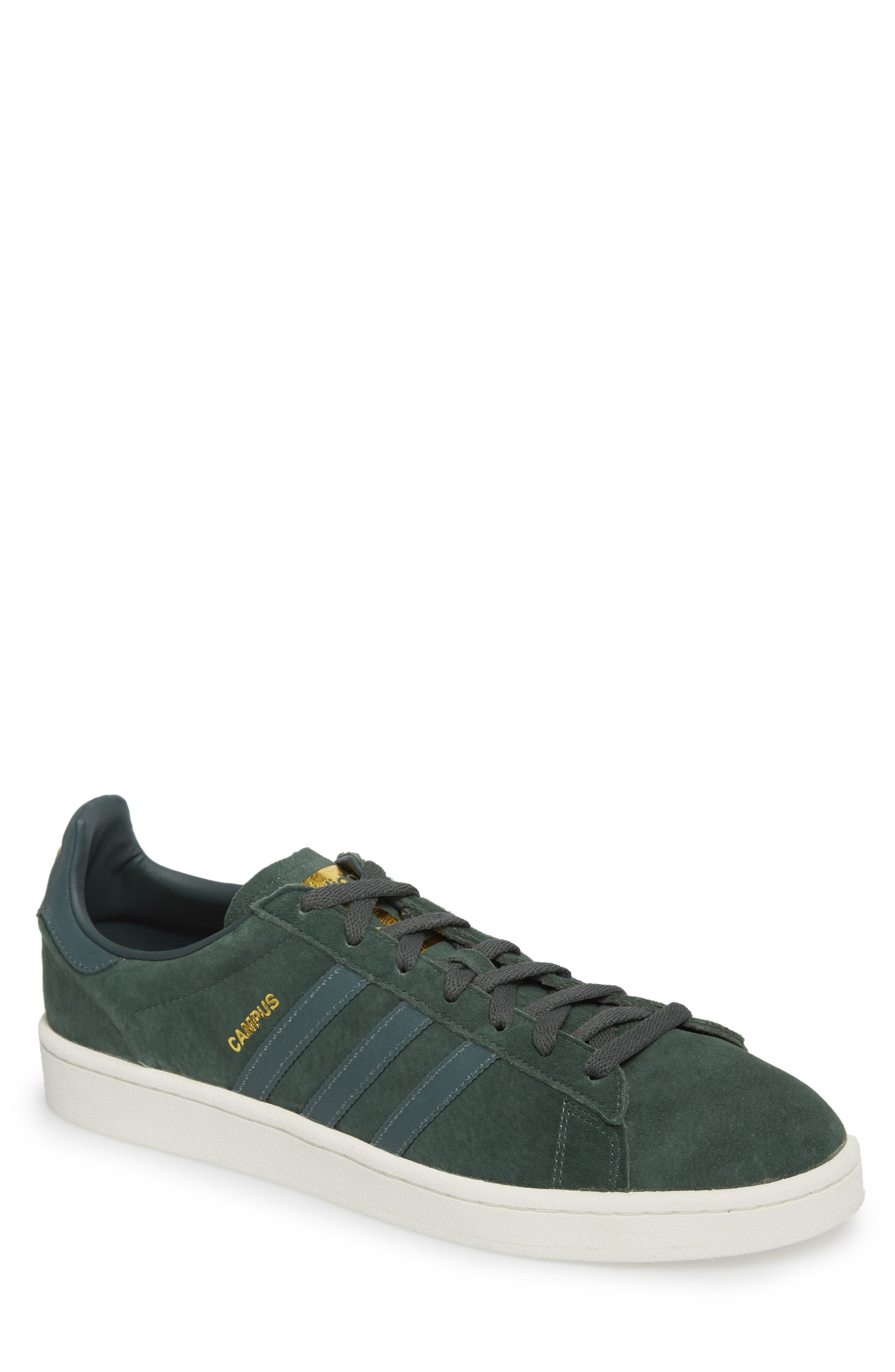 Campus Sneaker,                         Main,                         color, Utility Ivy/ Reflective/ Gold