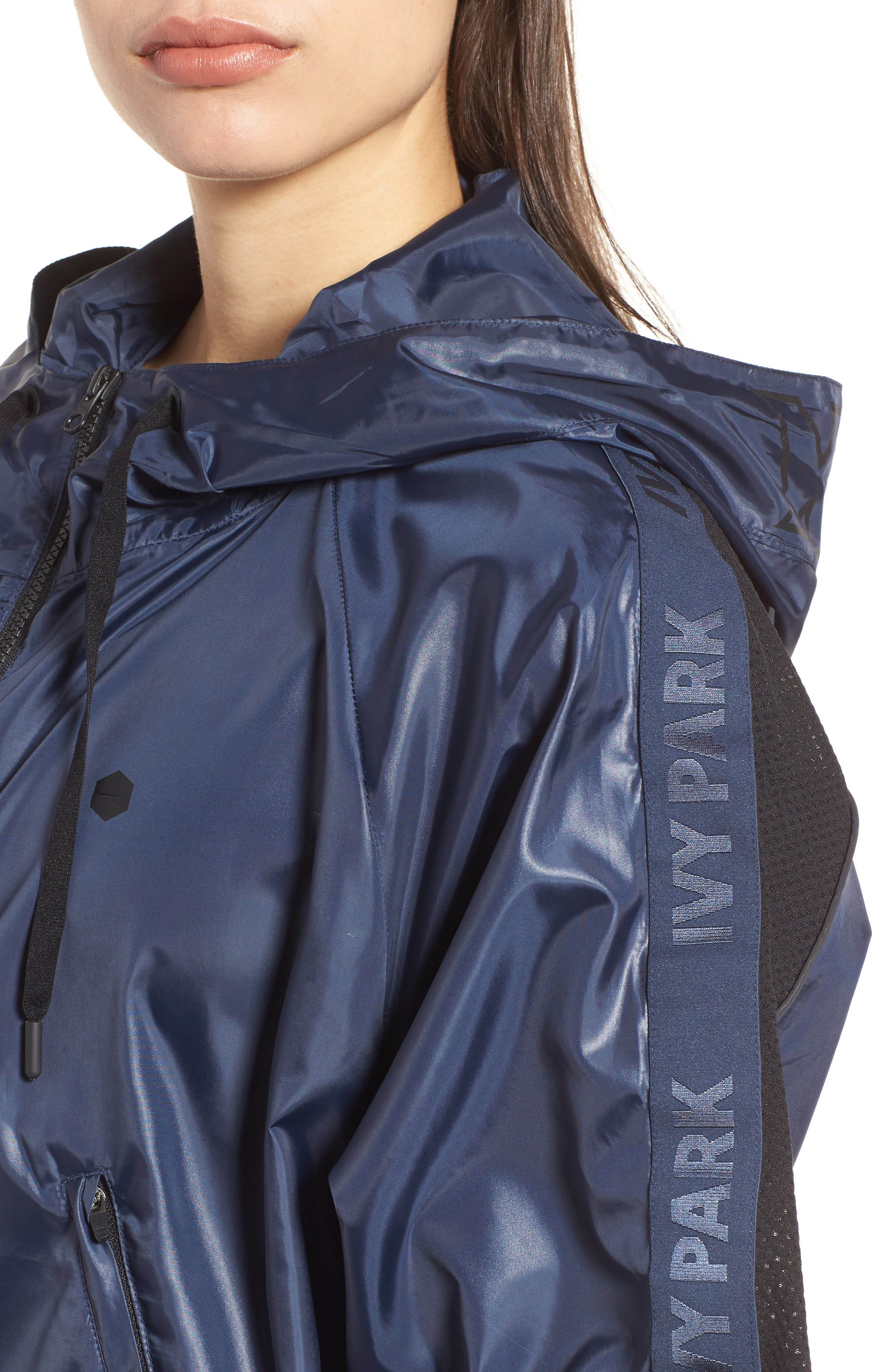 Wetlook Hooded Pullover,                             Alternate thumbnail 4, color,                             Rainstorm