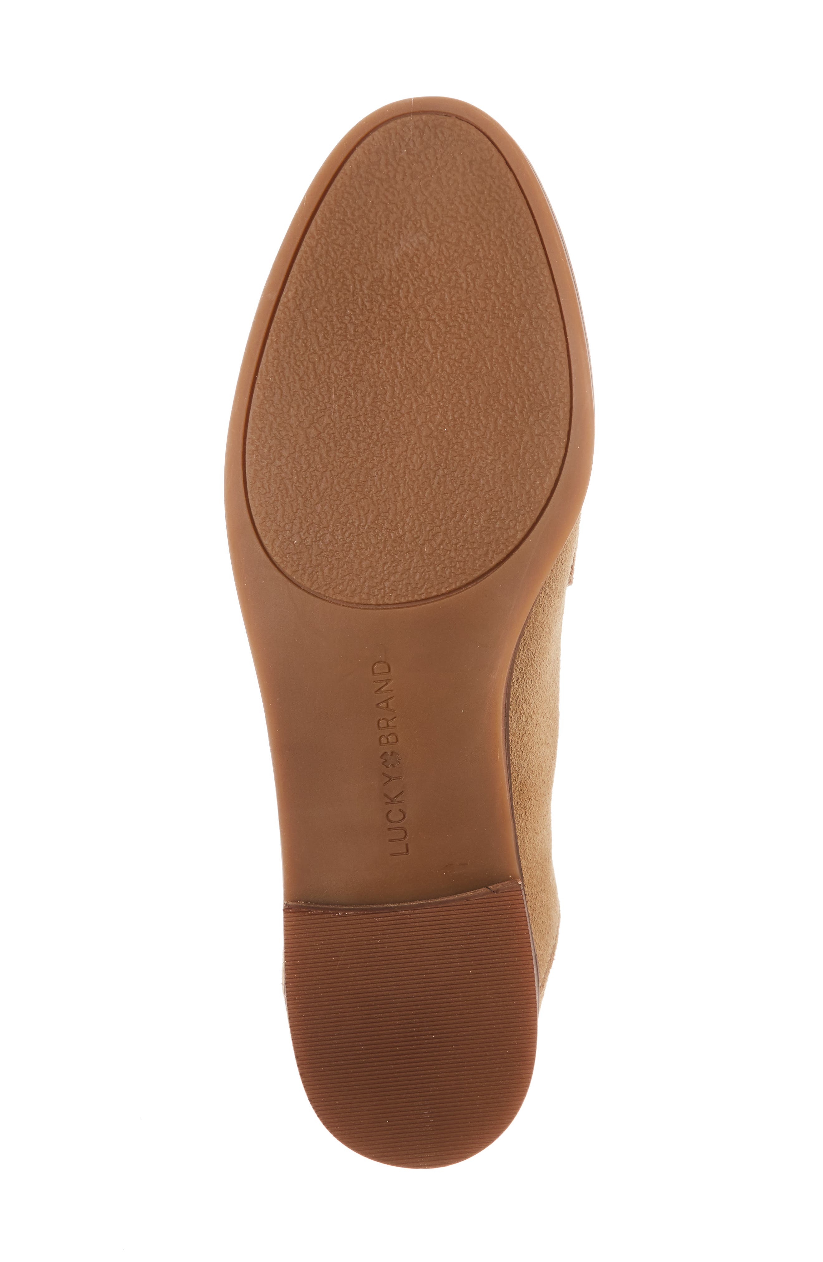Chennie Loafer,                             Alternate thumbnail 6, color,                             Travertine Suede