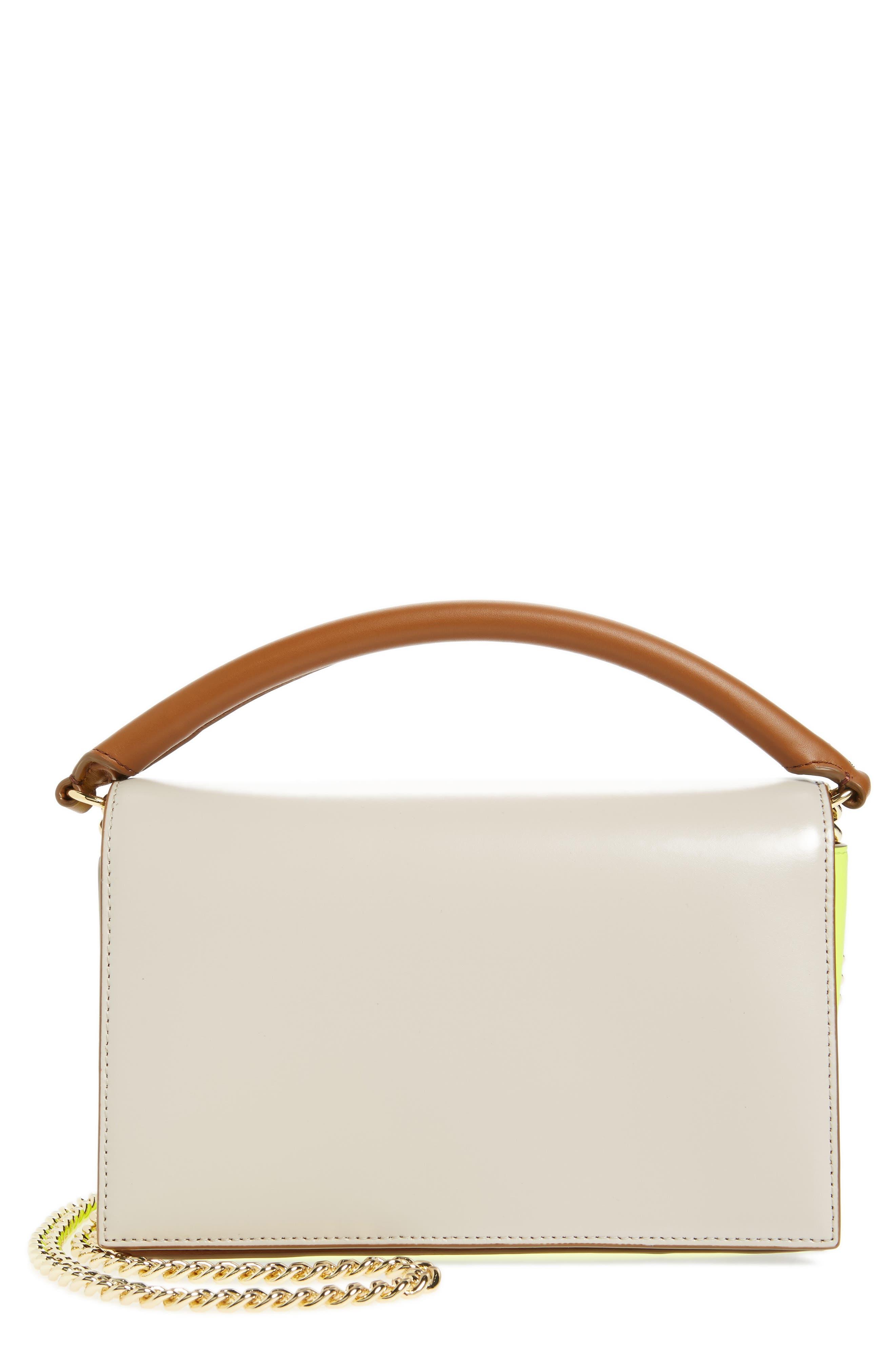 Diane von Furstenberg Bonne Soirée Leather Top Handle Bag