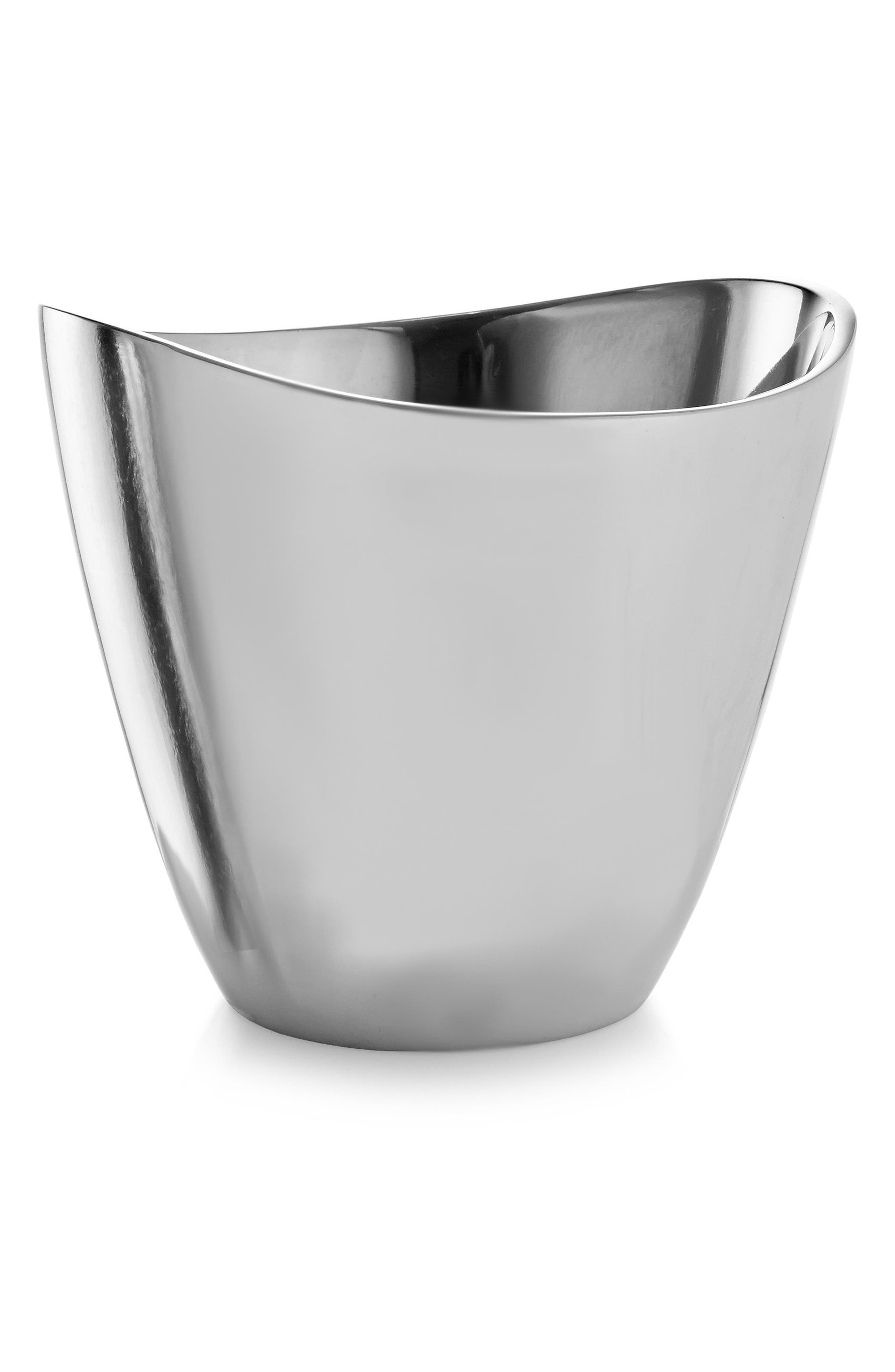 Vie Champagne Bucket,                         Main,                         color, Silver