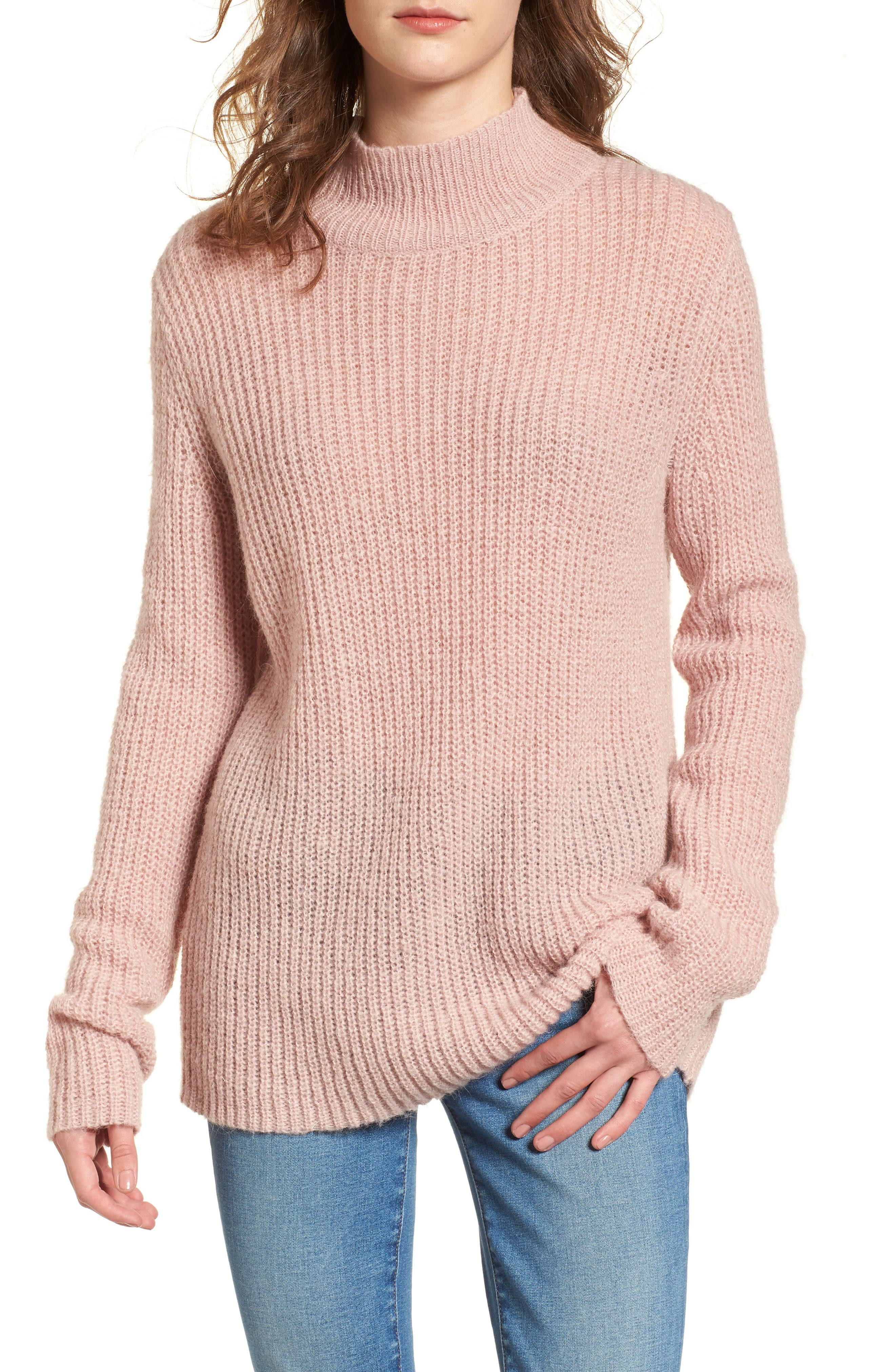 French Connection Mathilde Mock Neck Sweater