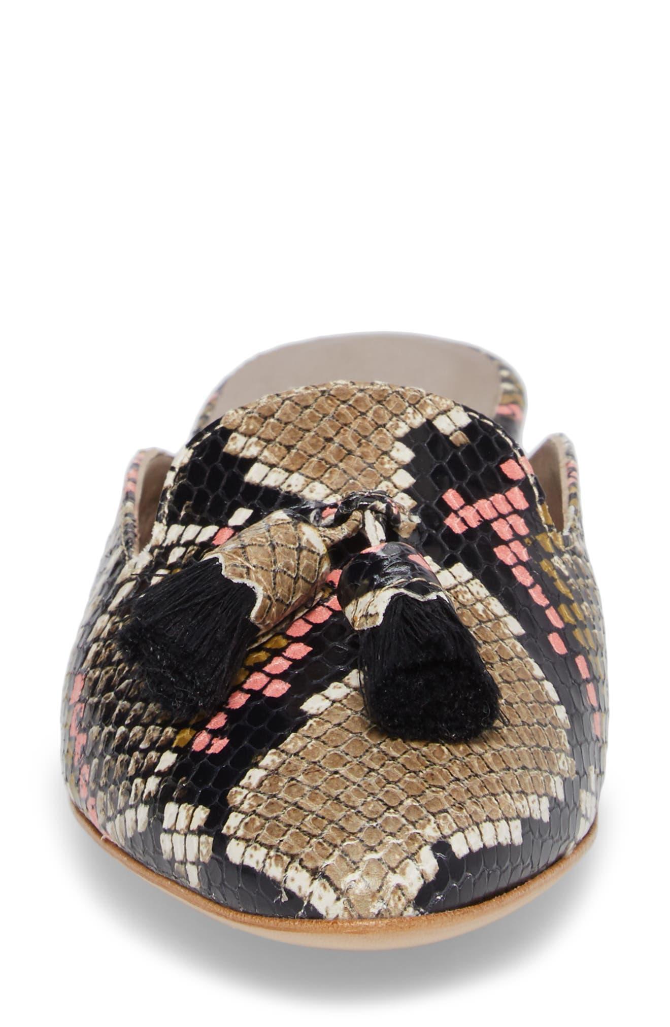 Alternate Image 4  - AGL Tassel Loafer Mule (Women)