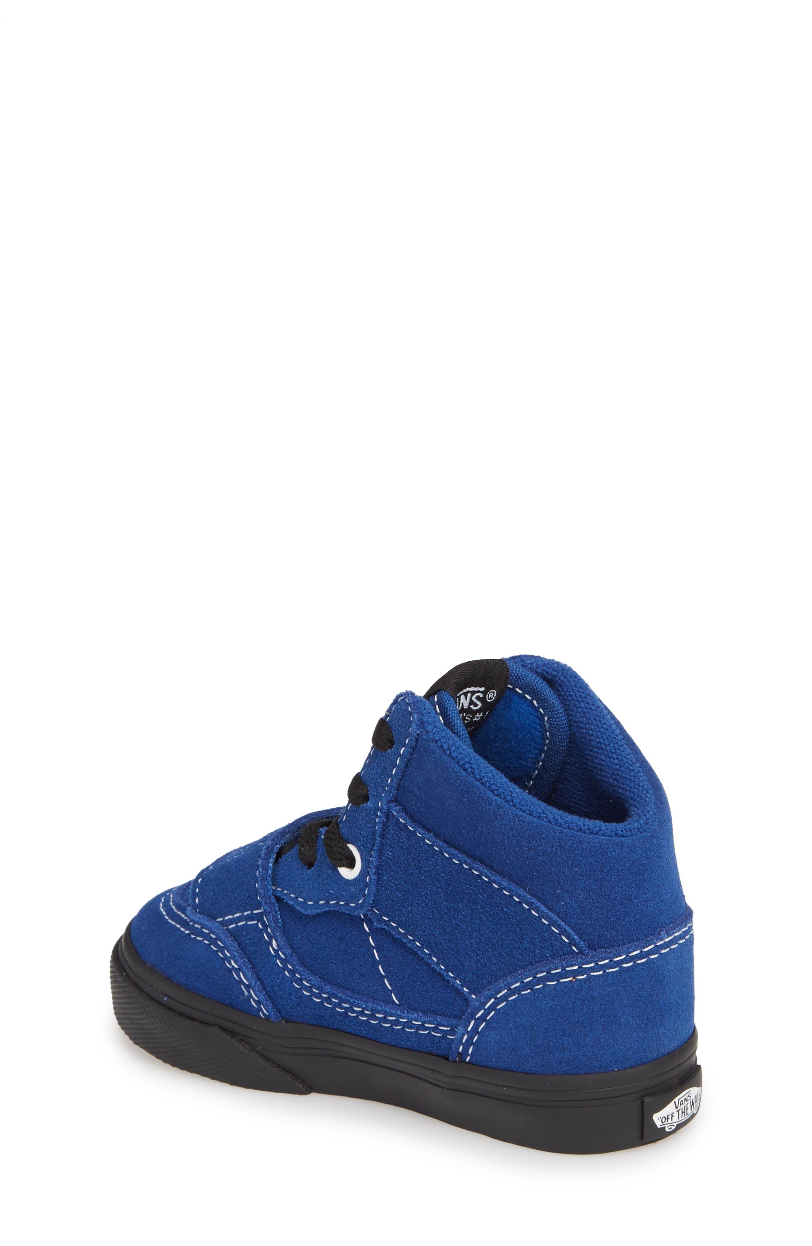 Mountain Edition Mid Top Sneaker,                             Alternate thumbnail 2, color,                             Blue/ Black
