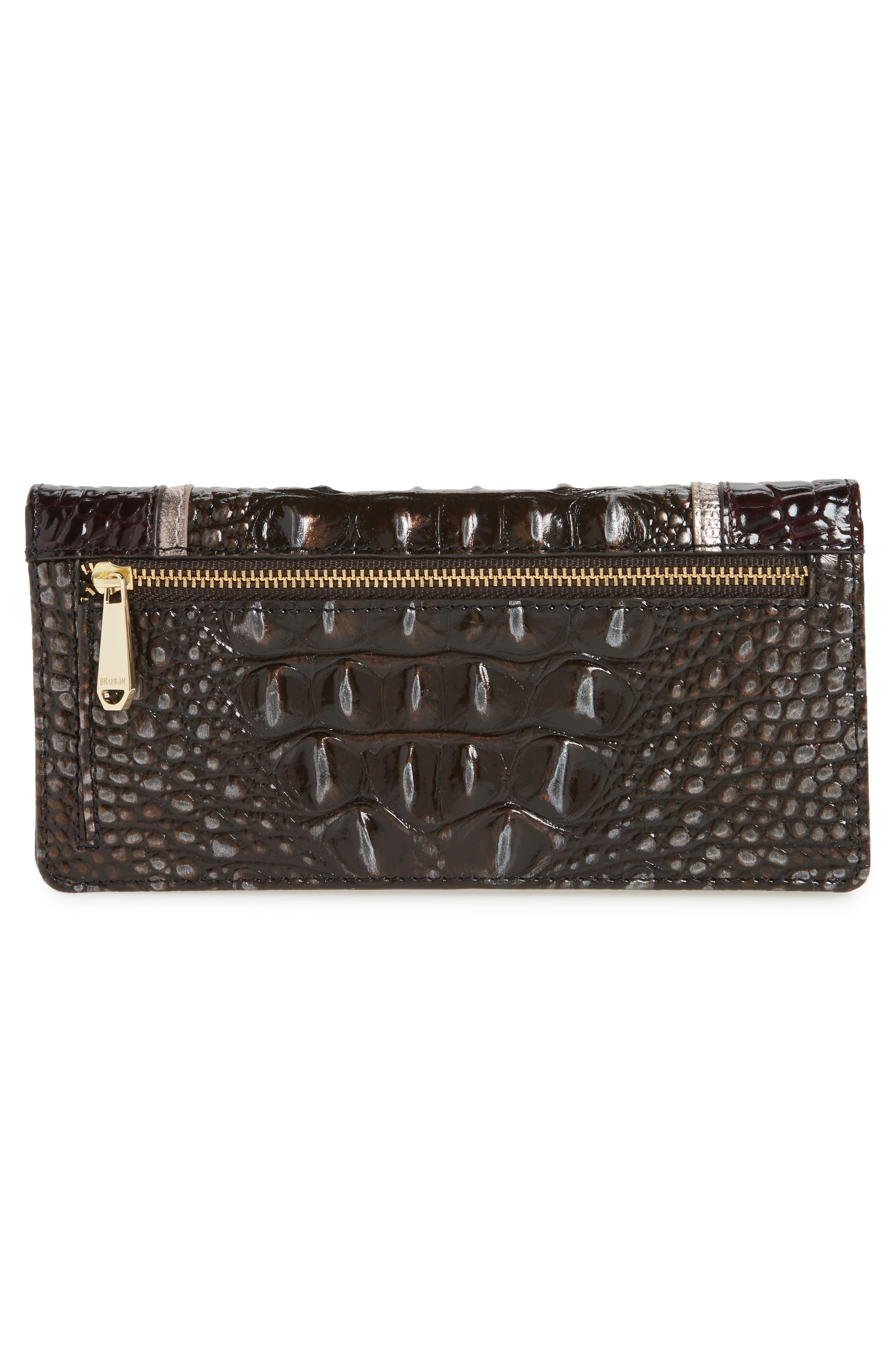 Alternate Image 4  - Brahmin Ady Leather Continental Wallet