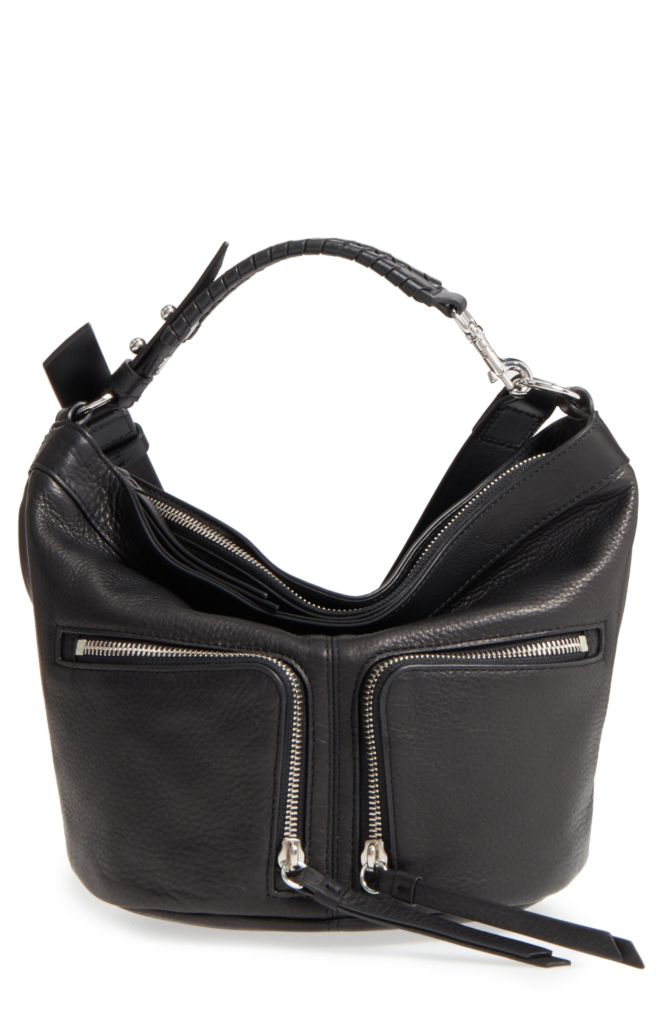 ALLSAINTS Fetch Leather Crossbody Bag