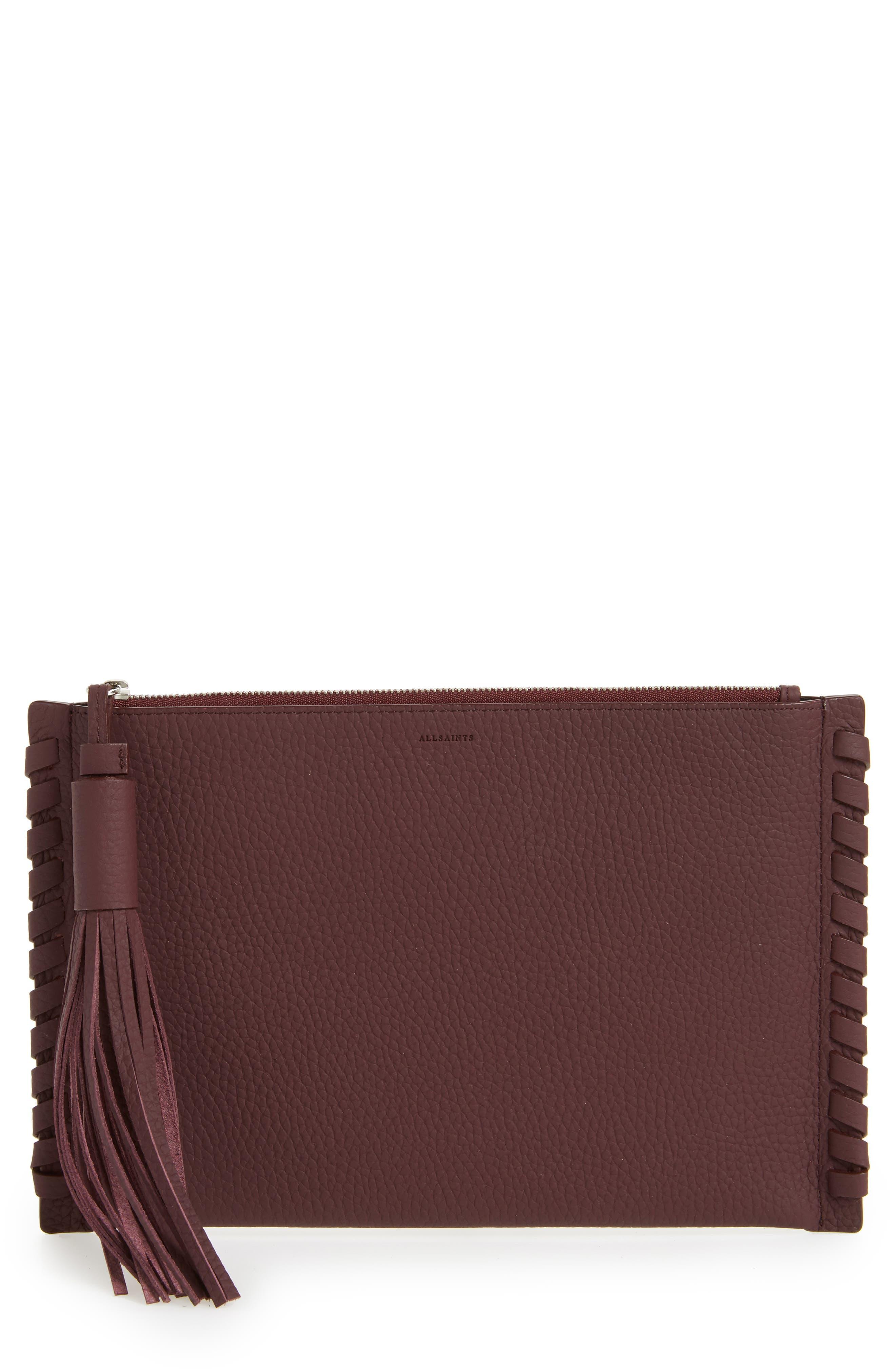 ALLSAINTS Kepi Leather Pouch