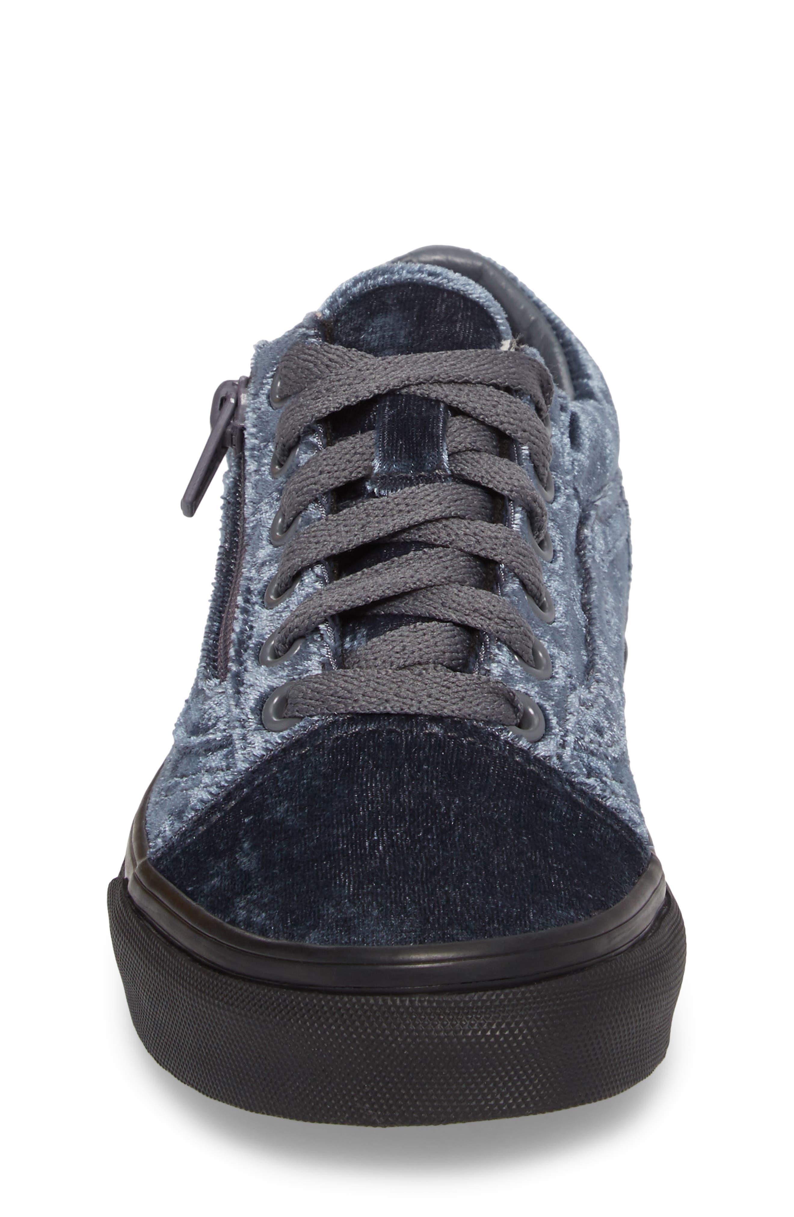 Alternate Image 4  - Vans Old Skool Zip Sneaker (Baby, Walker, Toddler, Little Kid & Big Kid)