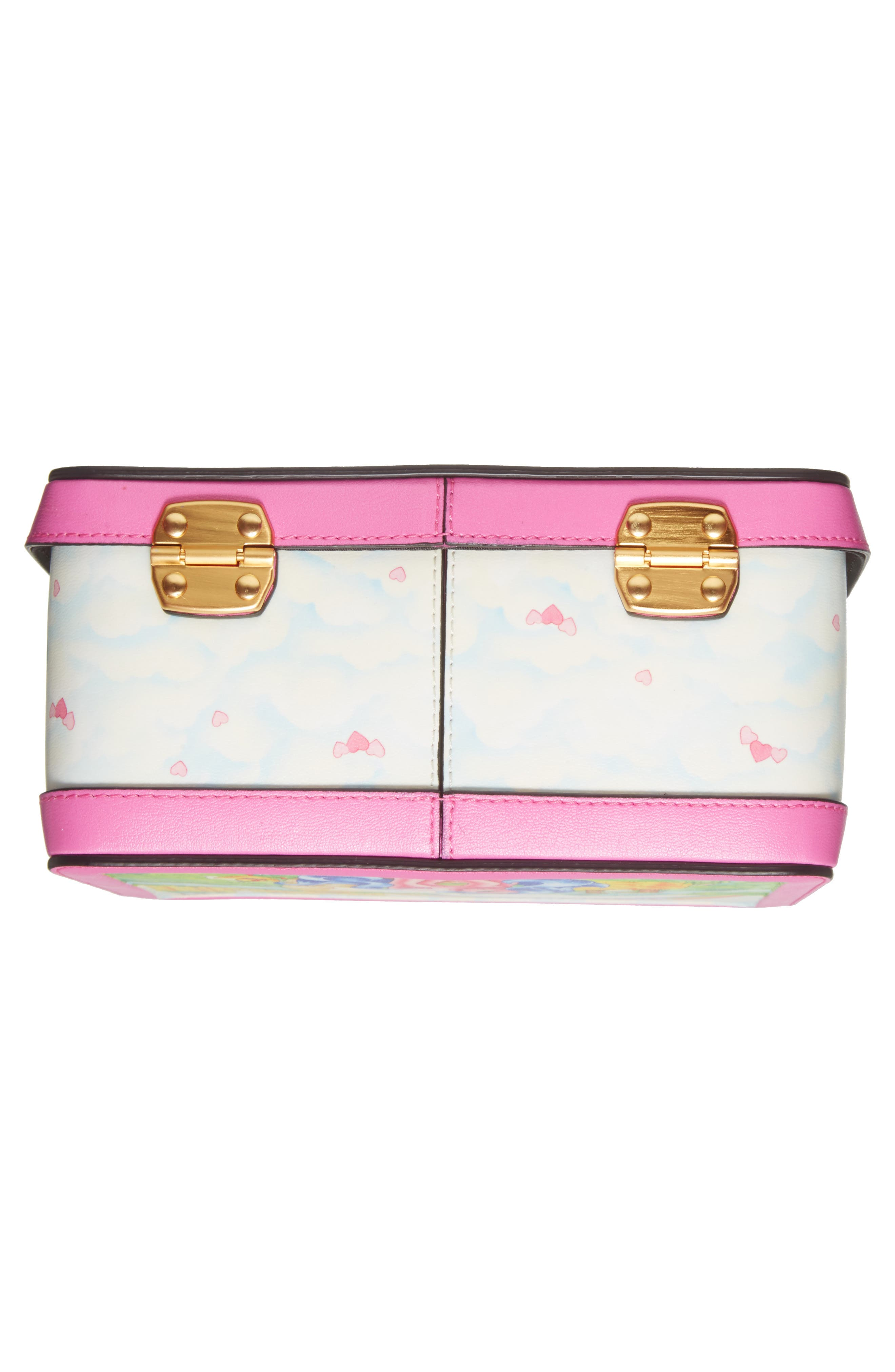 x My Little Pony Leather Lunch Box,                             Alternate thumbnail 6, color,                             Pink