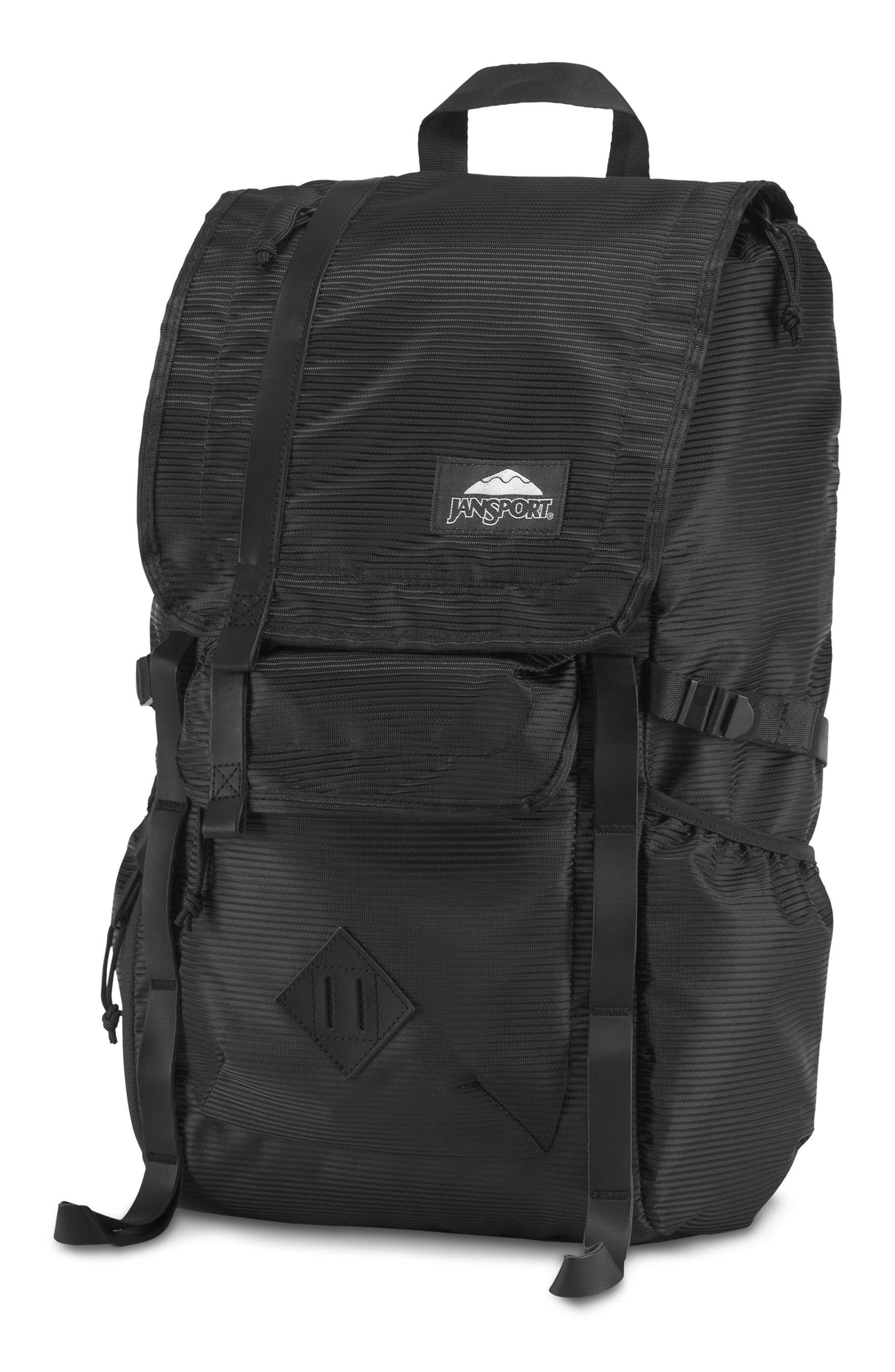 Hatchet DL Backpack,                             Alternate thumbnail 2, color,                             Black Line