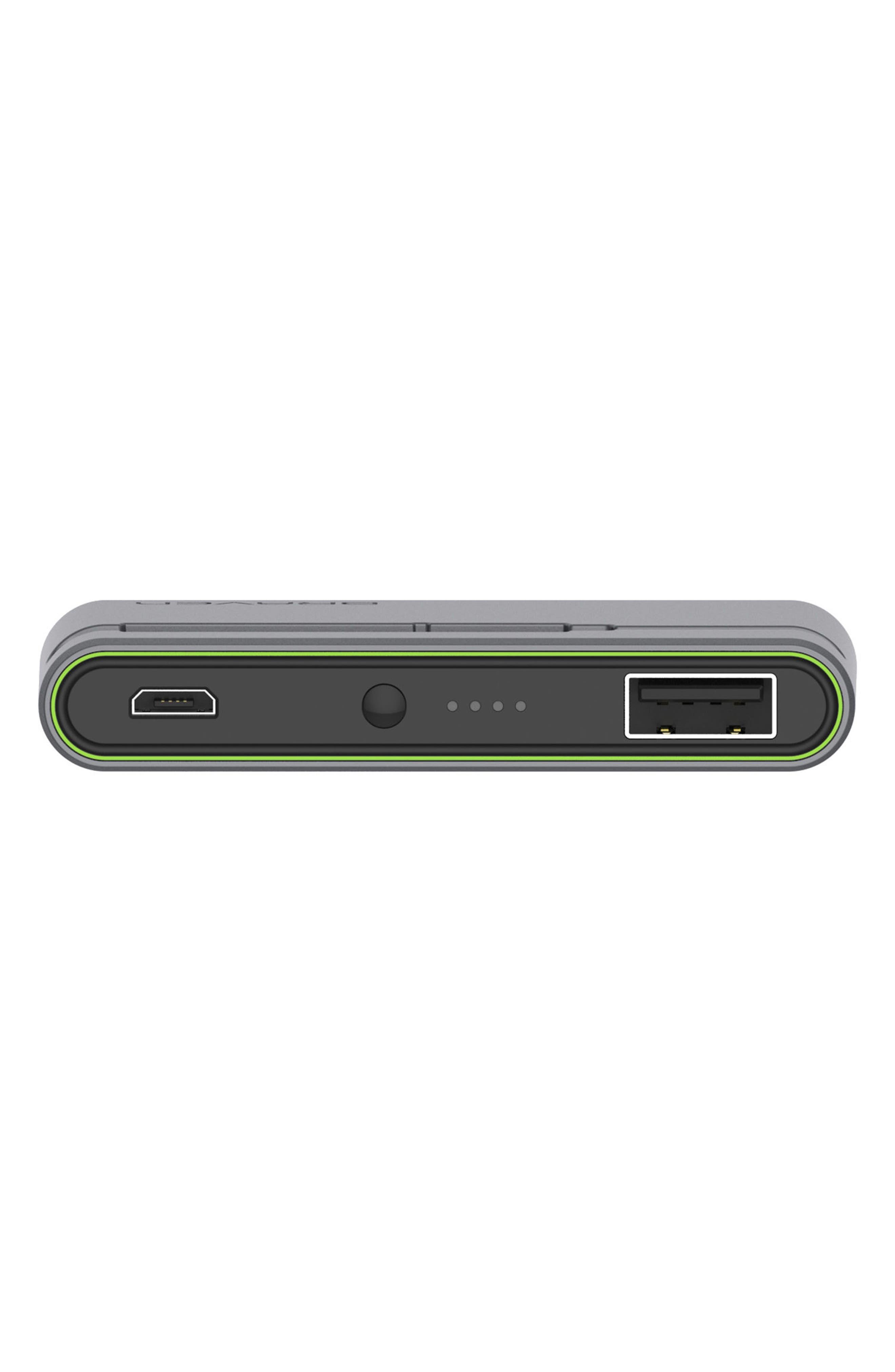 Flye Sport Bluetooth in-Ear Headphones,                             Alternate thumbnail 5, color,                             Silver/ Green