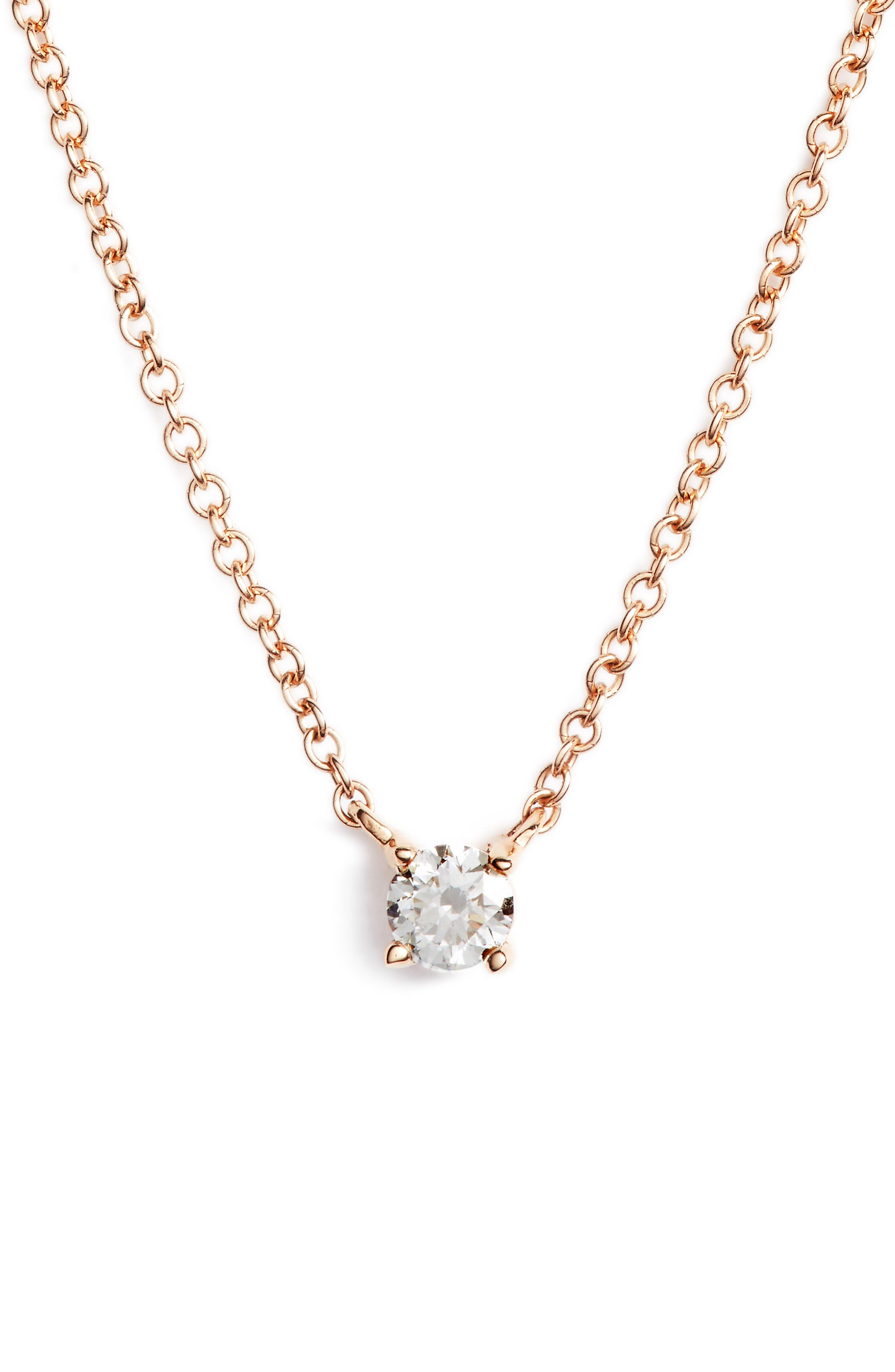 Bony Levy Liora Diamond Solitaire Pendant Necklace (Nordstrom Exclusive)
