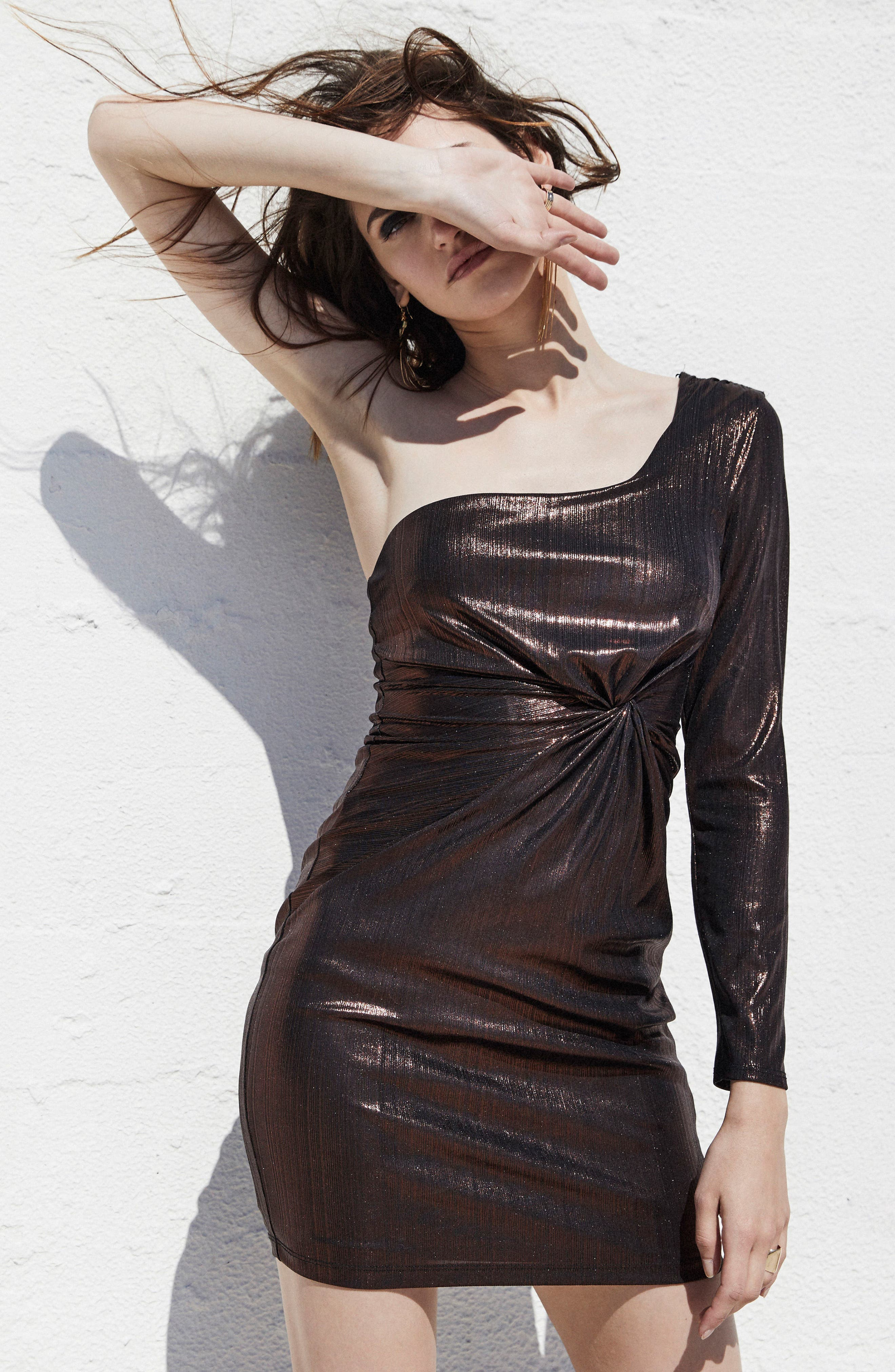 Alternate Image 3  - ASTR the Label Silvia Body-Con dress