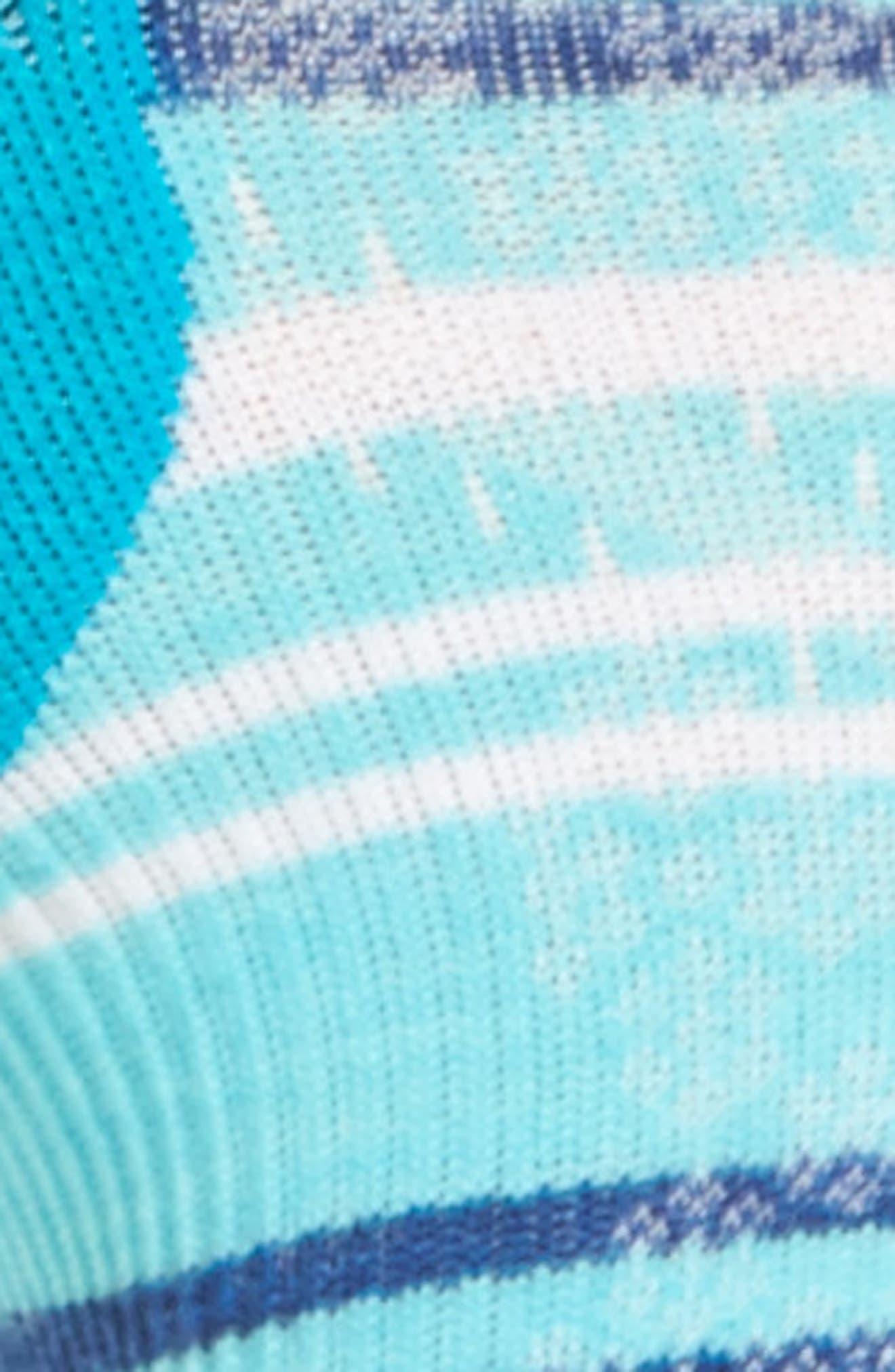 PhD Run Elite Micro No-Show Socks,                             Alternate thumbnail 2, color,                             Capri