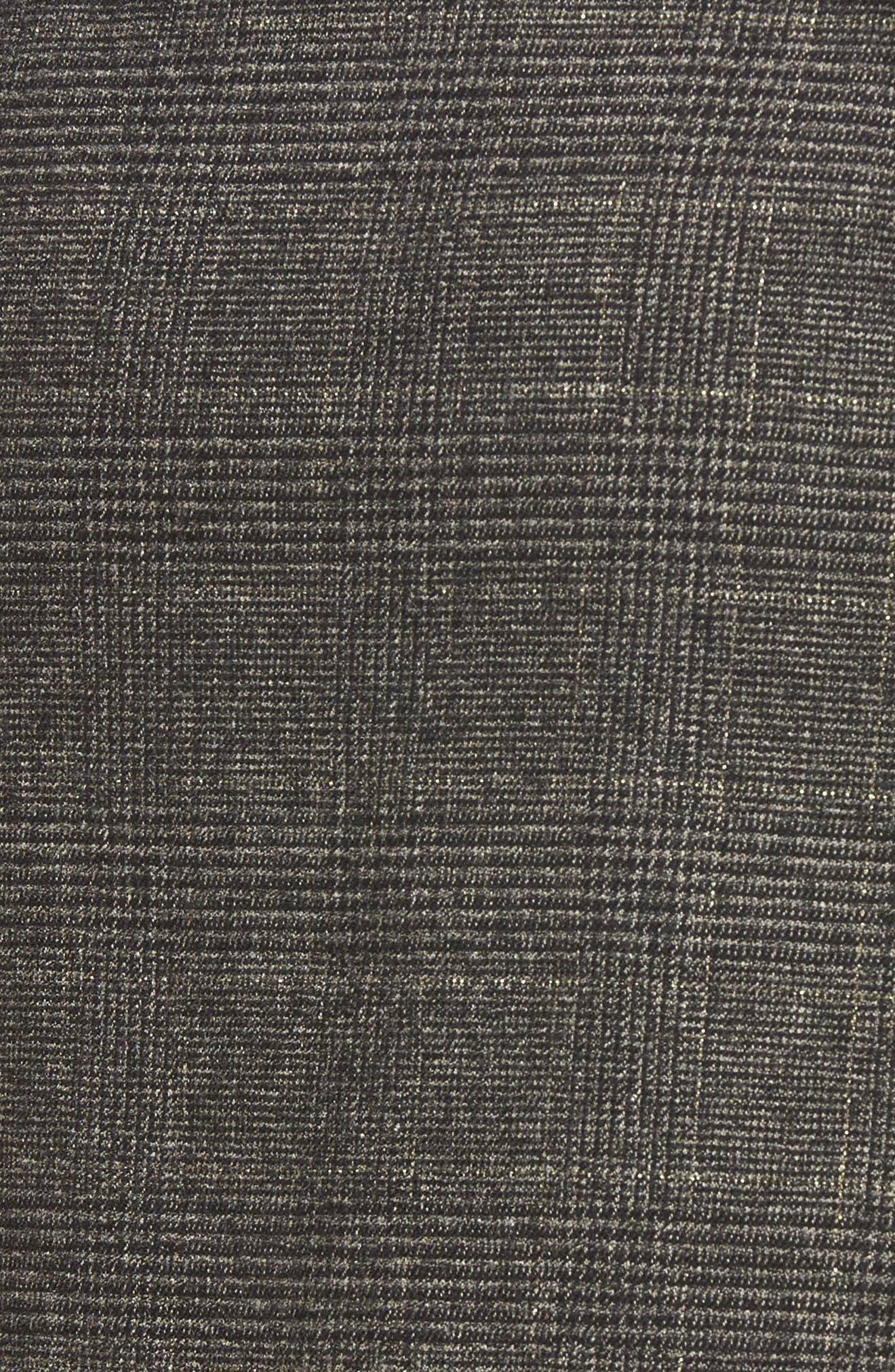 Alternate Image 5  - BP. Glen Plaid Ruched Ruffle Skirt