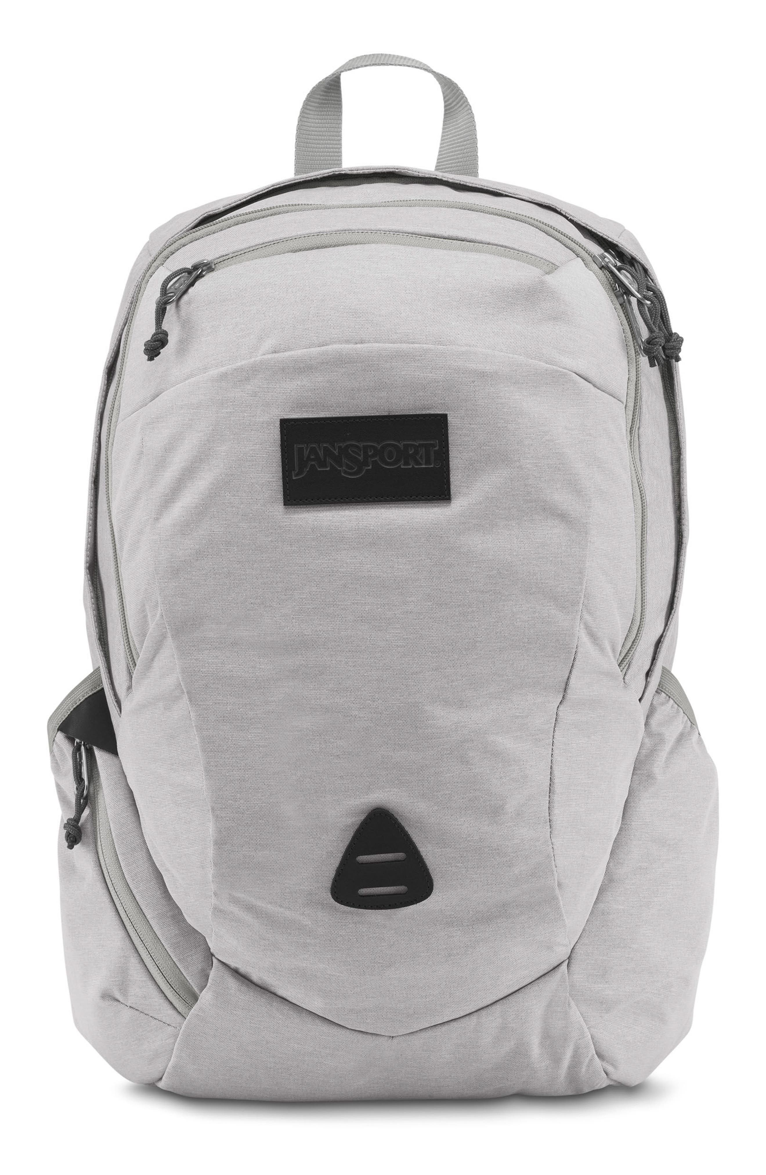 Wynwood Backpack,                             Main thumbnail 1, color,                             Grey Heathered Poly