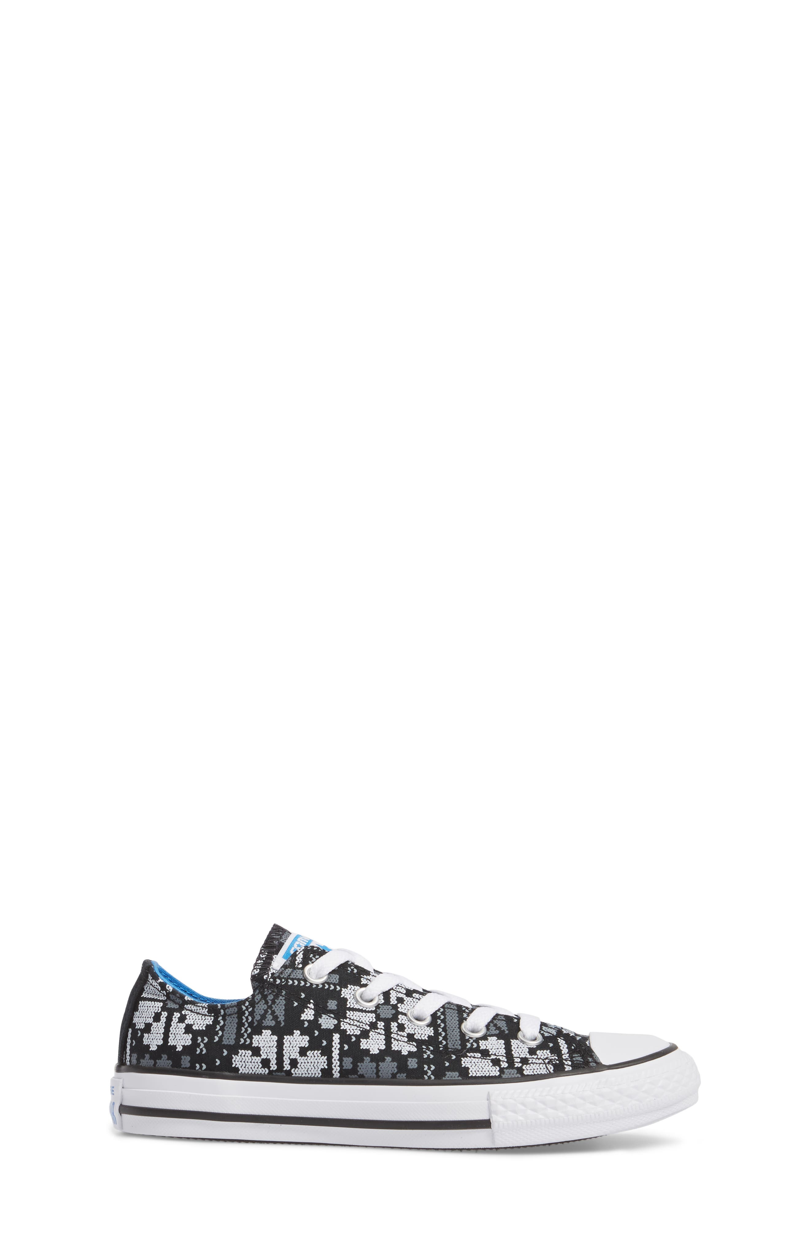 Chuck Taylor<sup>®</sup> All Star<sup>®</sup> Winter Ox Sneaker,                             Alternate thumbnail 3, color,                             Black Canvas