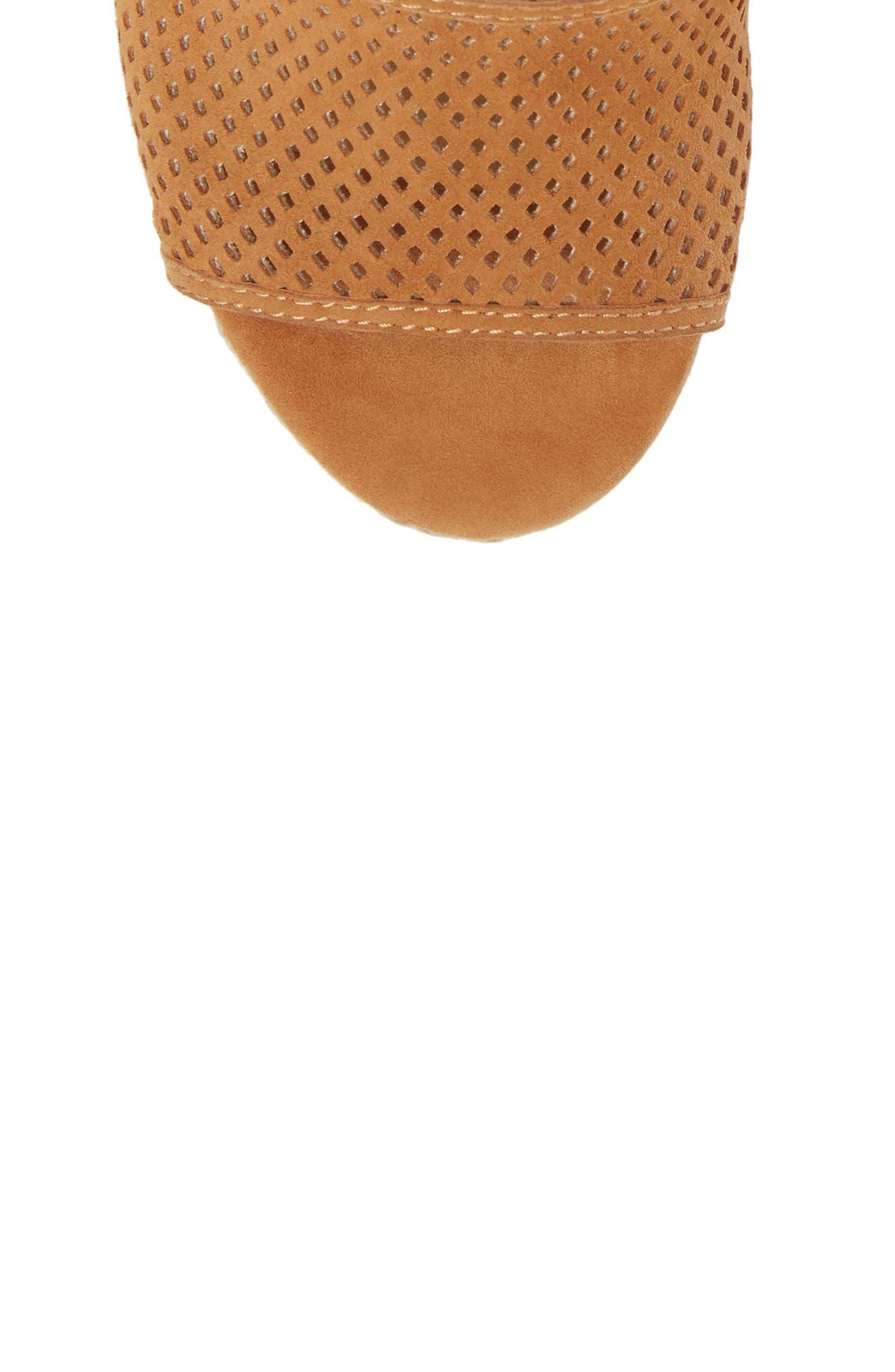 Bentley Espadrille Wedge Sandal,                             Alternate thumbnail 5, color,                             Tan Suede