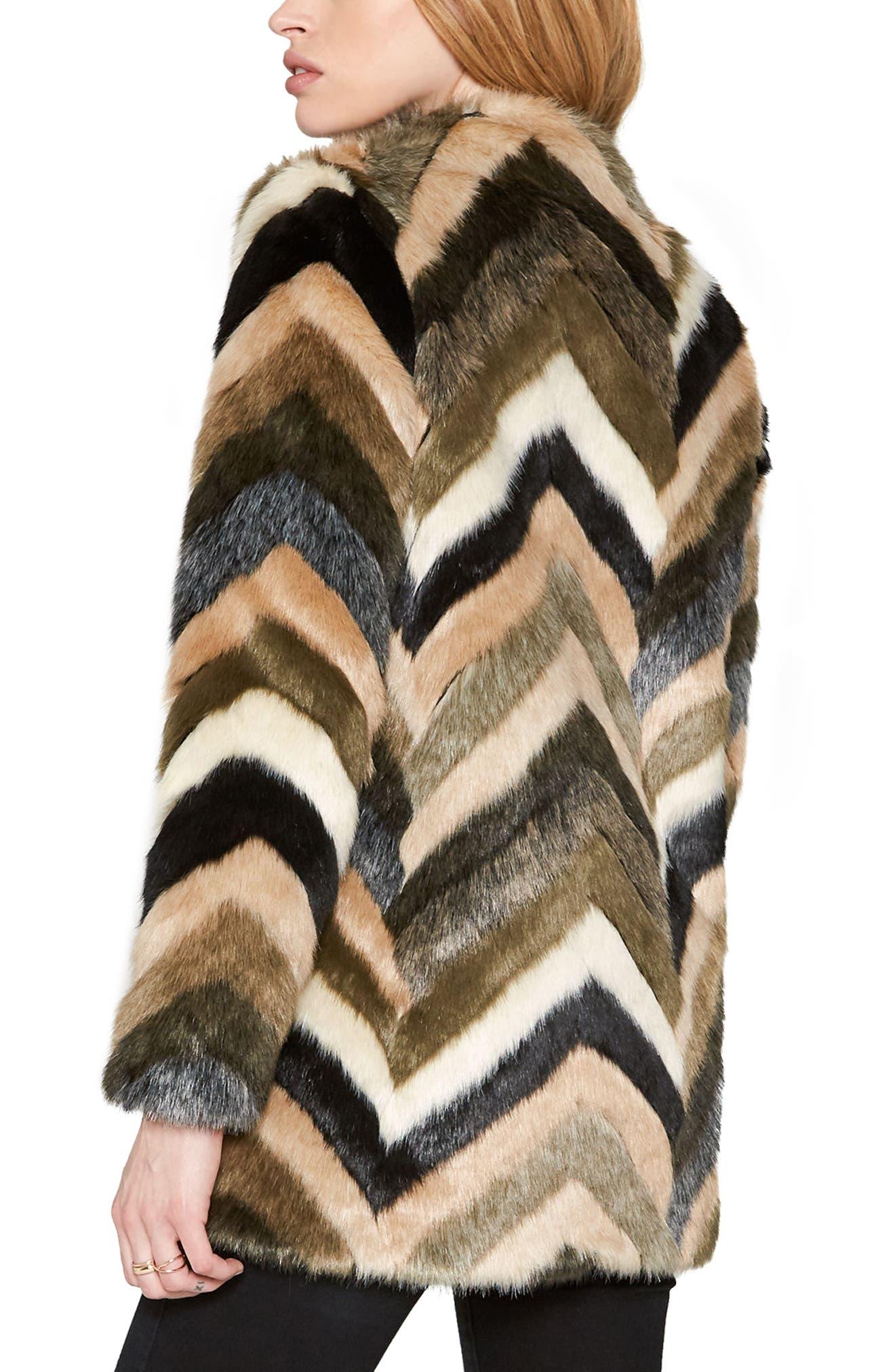 Alternate Image 3  - Amuse Society Waylon Faux Fur Jacket