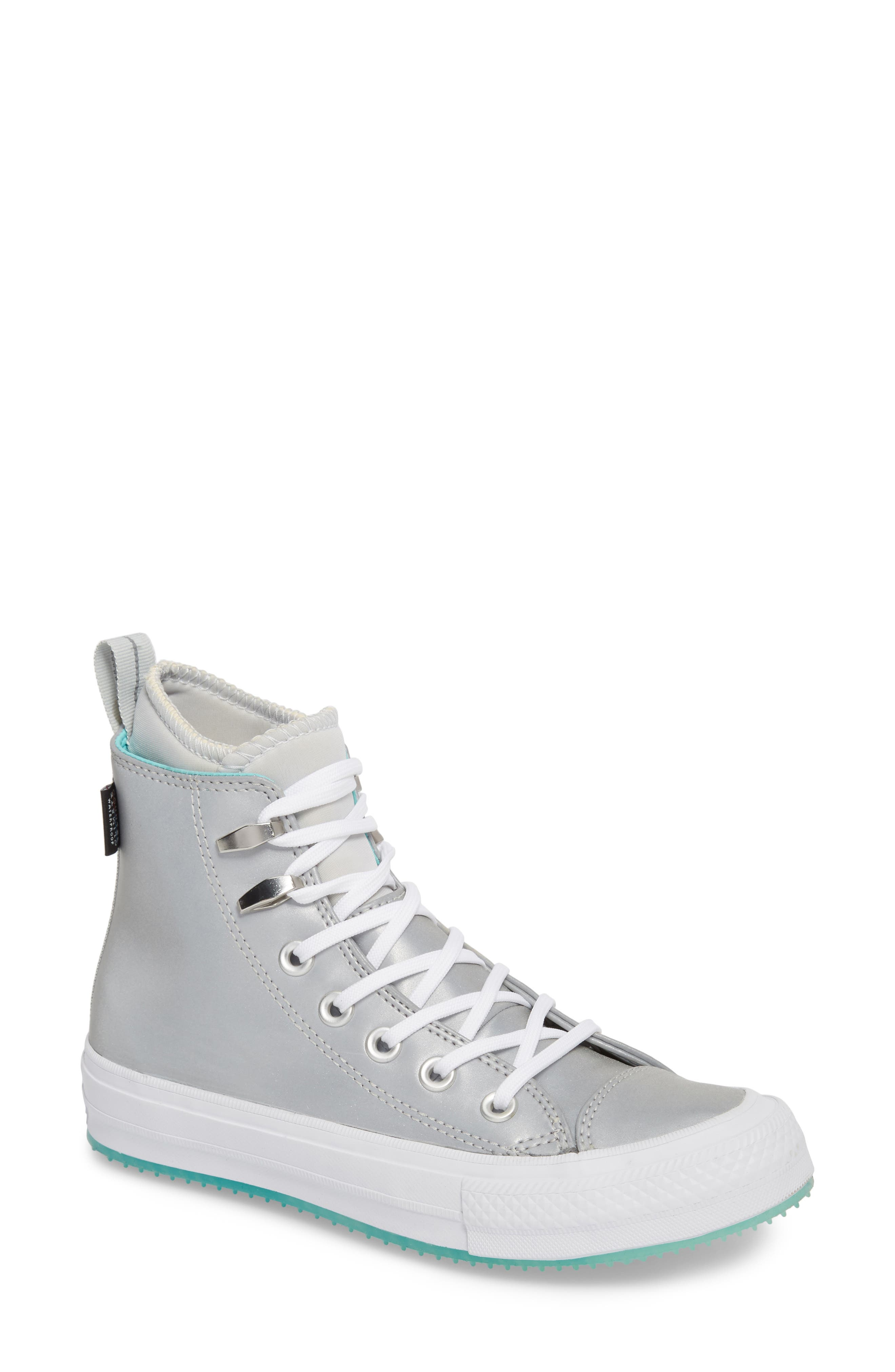 converse high tops white. converse ice counter climate water resistant high top sneaker (women) tops white