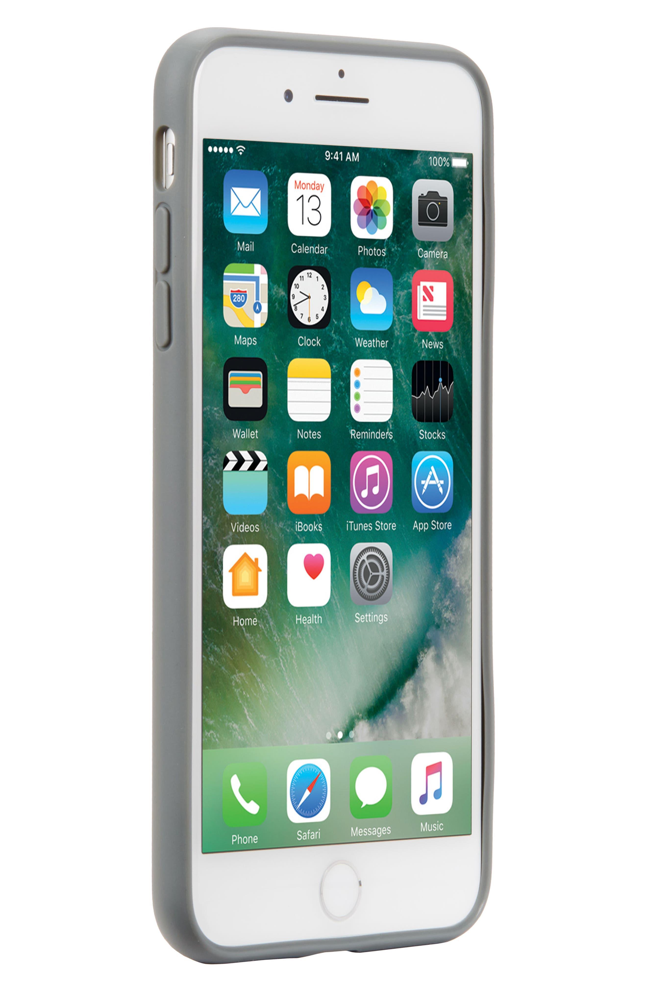 Pop Case Clear iPhone 7 Plus/8 Plus Case,                             Alternate thumbnail 6, color,                             Clear 3