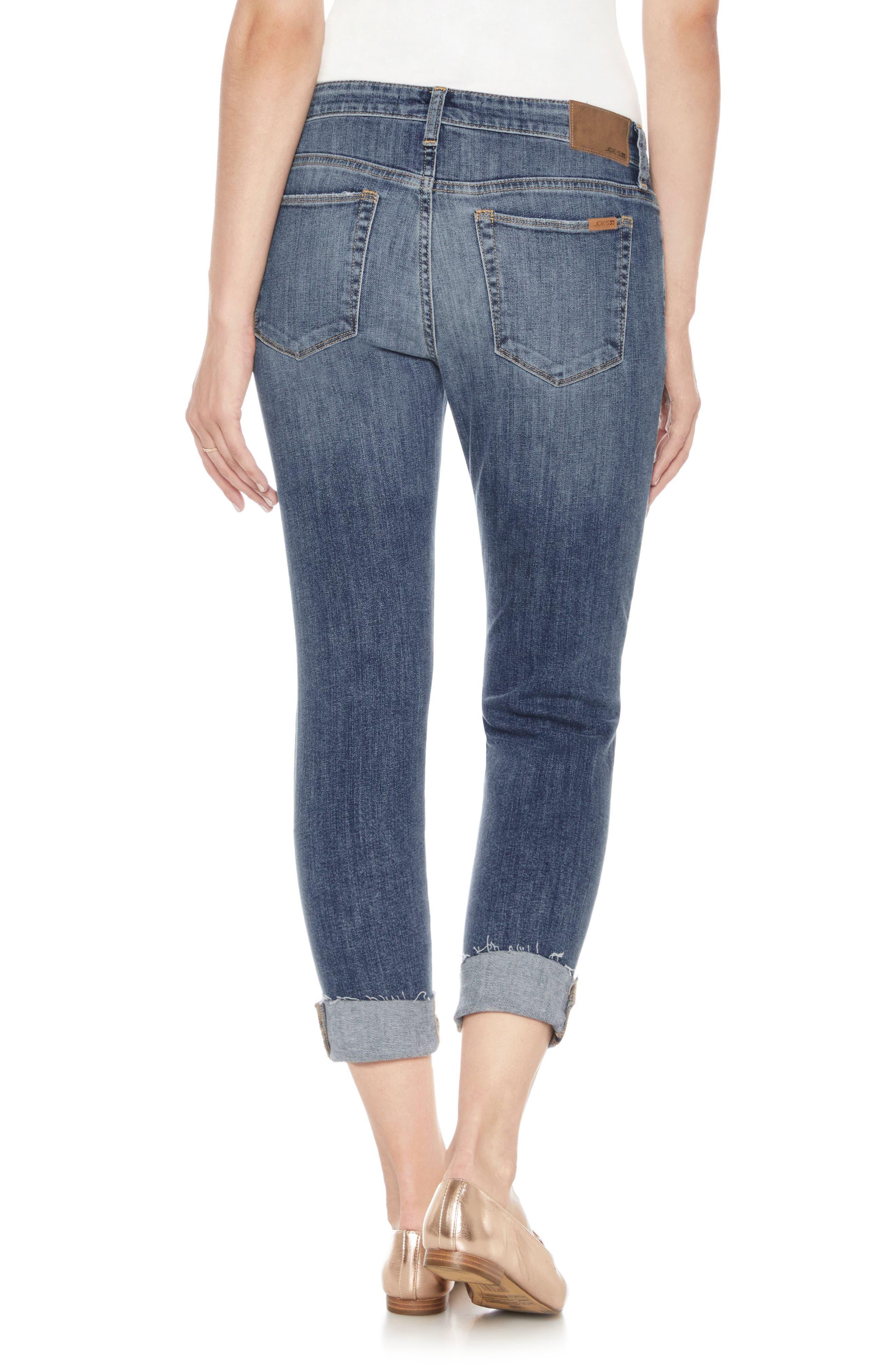 Alternate Image 2  - Joe's Smith Crop Skinny Jeans (Raschell)