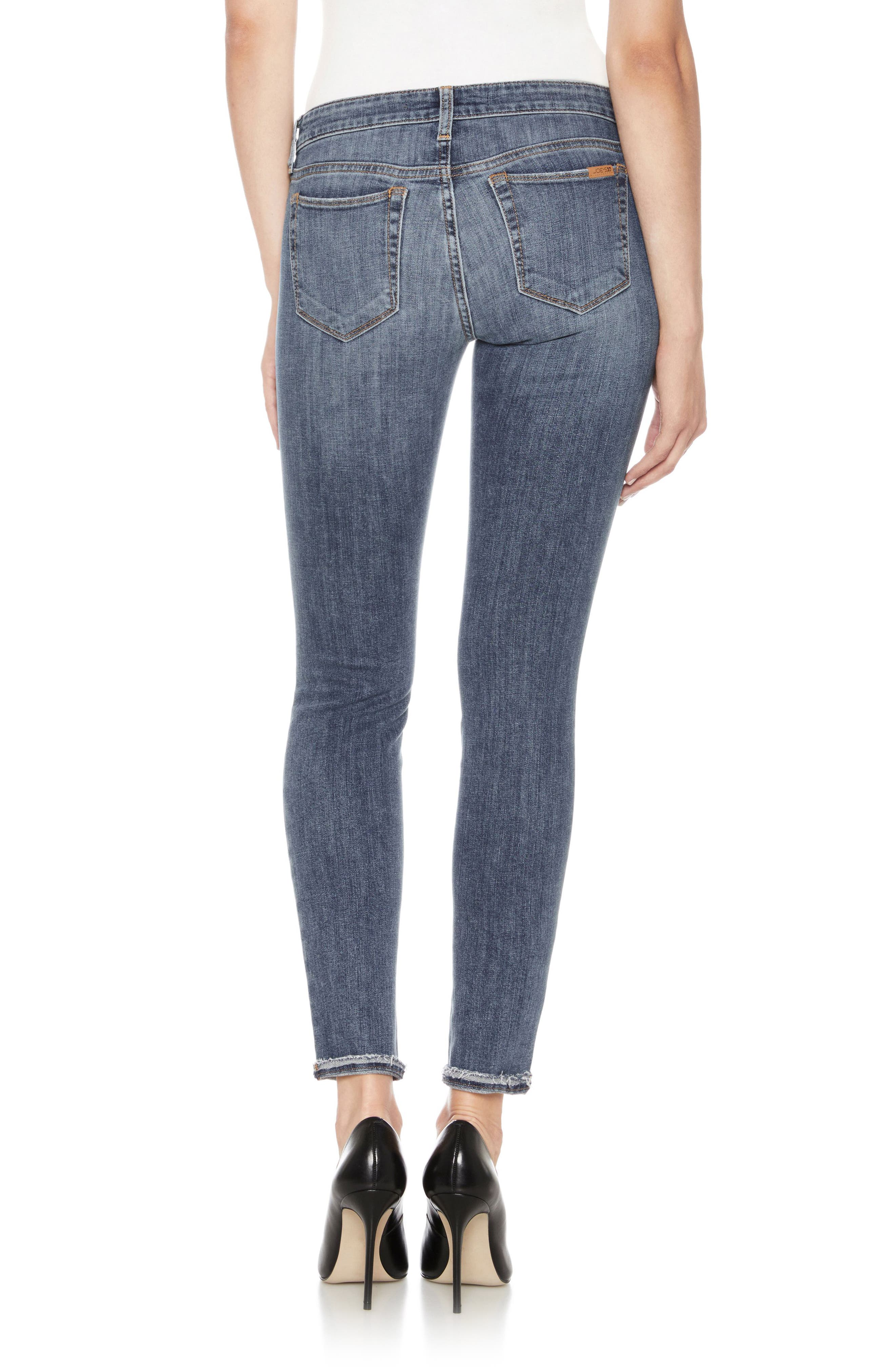 Icon Ankle Skinny Jeans,                             Alternate thumbnail 2, color,                             Raschell