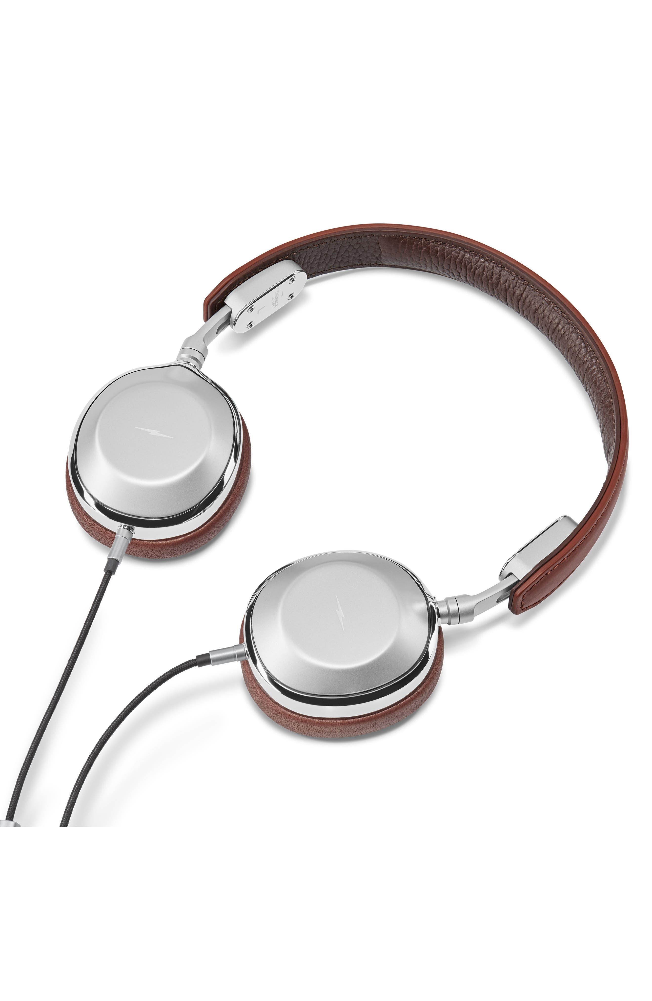 Canfield On-Ear Headphones,                             Alternate thumbnail 3, color,                             Cognac