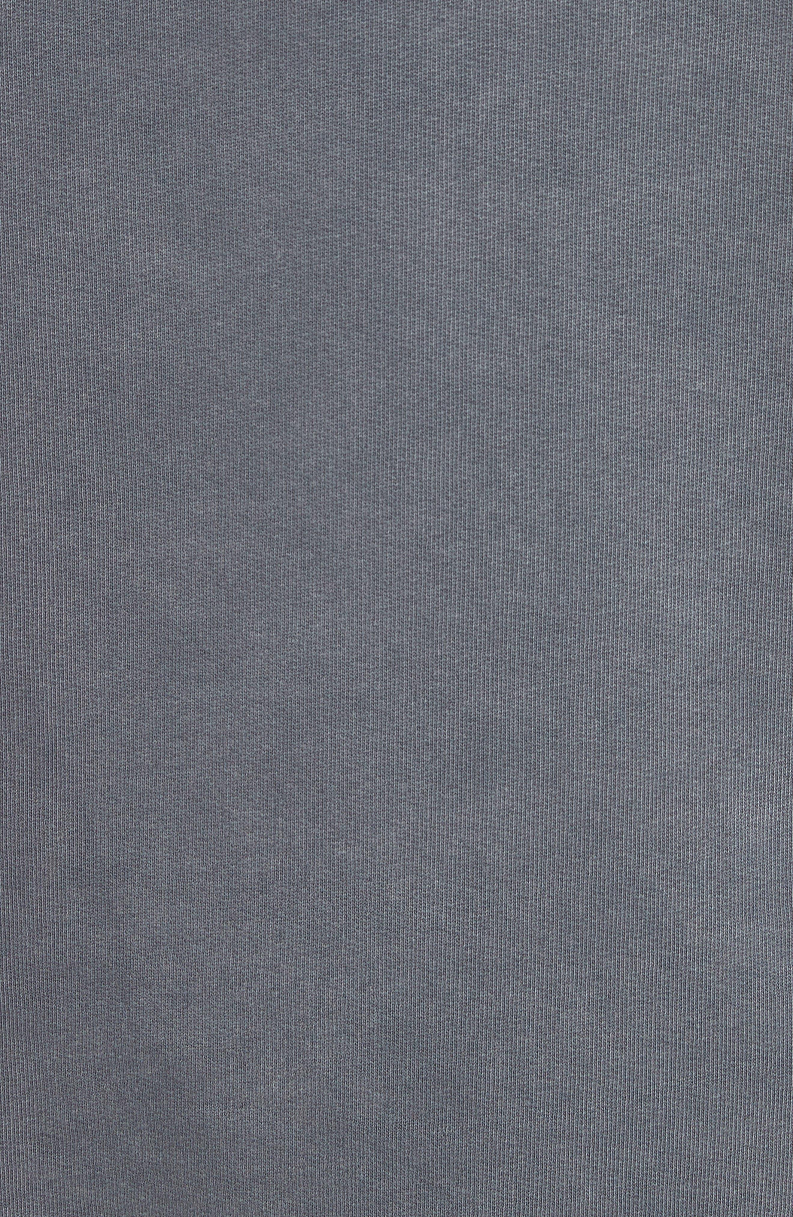 Fala Oversize Washed Hoodie,                             Alternate thumbnail 5, color,                             Black Wash