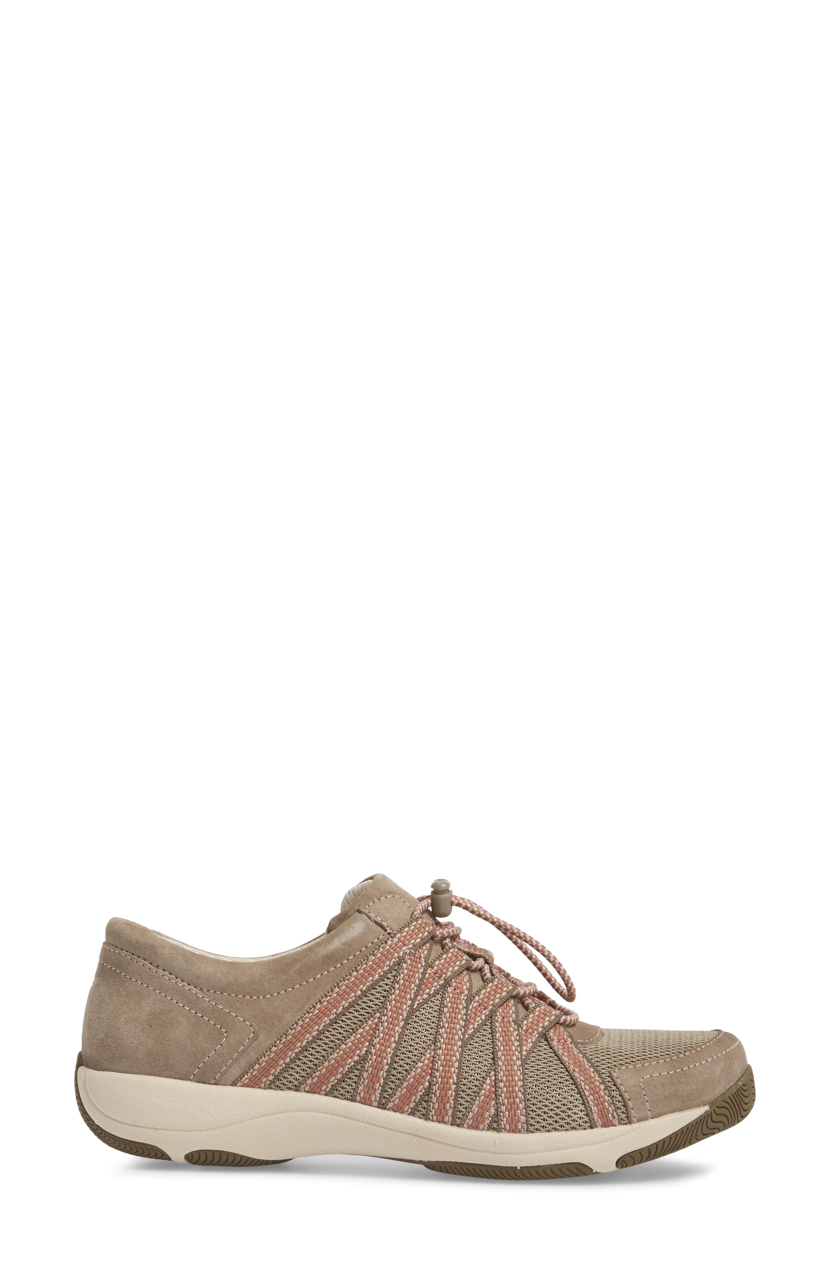 Halifax Collection Honor Sneaker,                             Alternate thumbnail 3, color,                             Walnut Suede