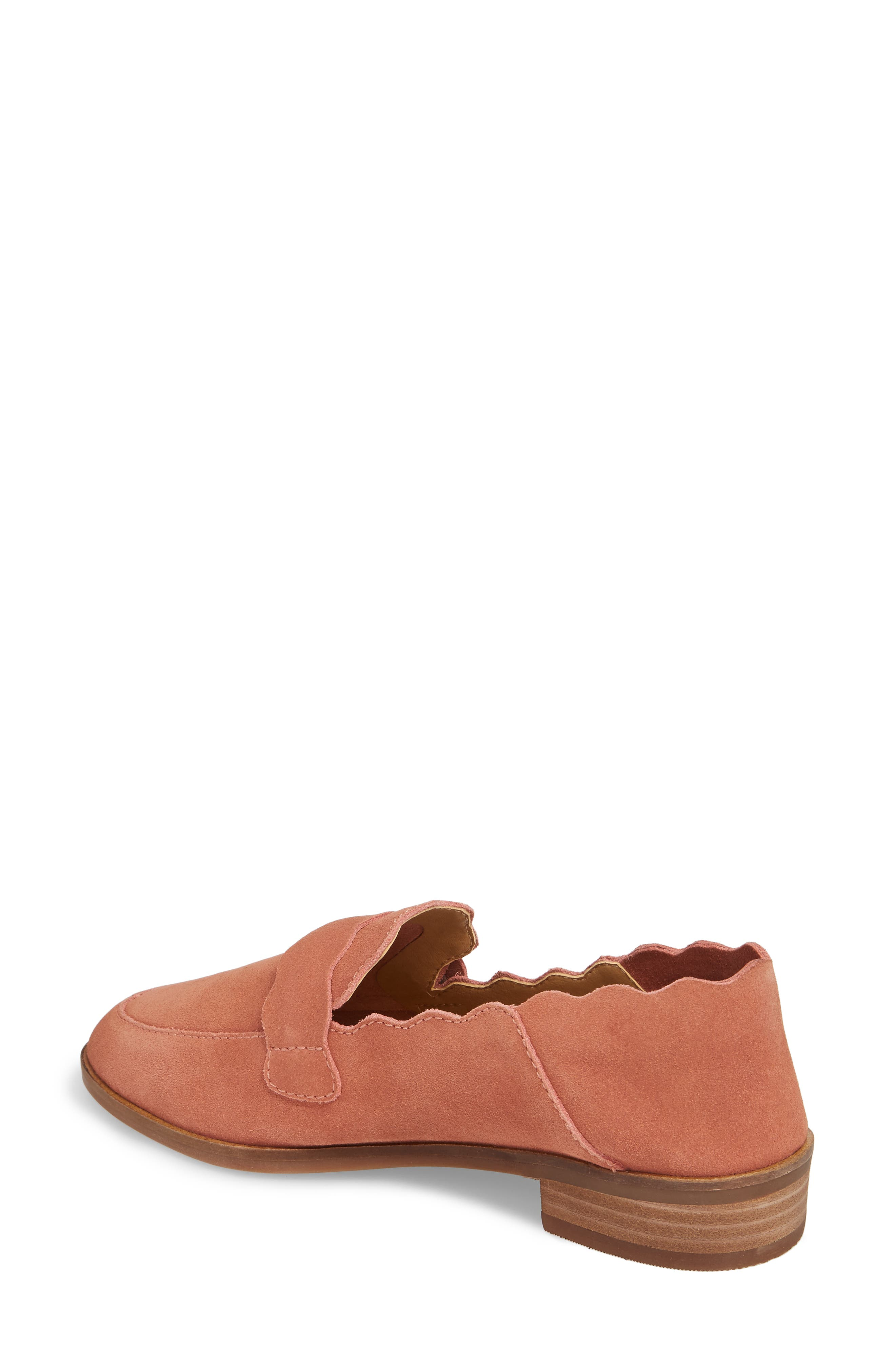 Callister Loafer,                             Alternate thumbnail 2, color,                             Canyon Rose Suede