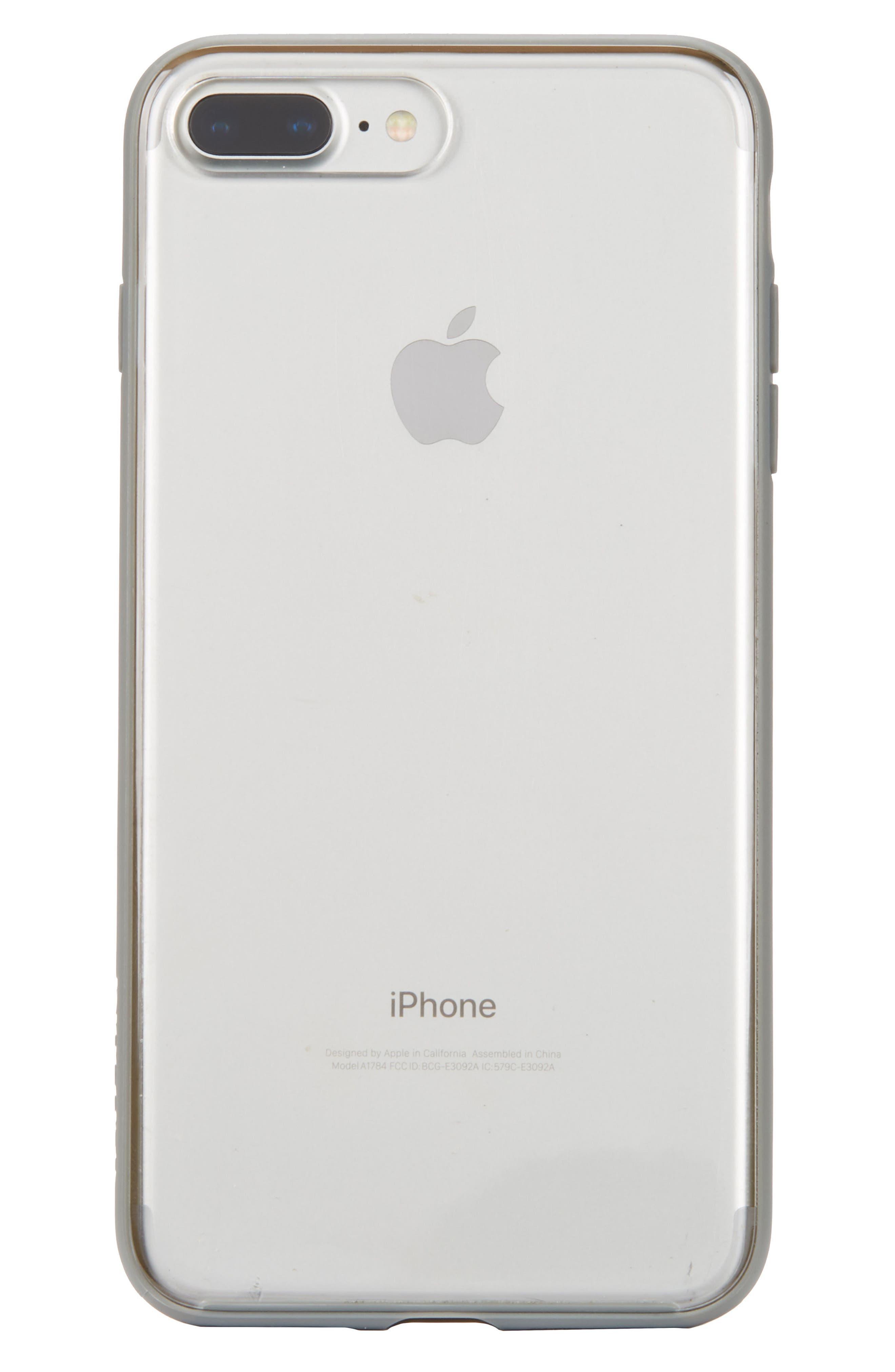 Pop Case Clear iPhone 7 Plus/8 Plus Case,                             Main thumbnail 1, color,                             Clear 3