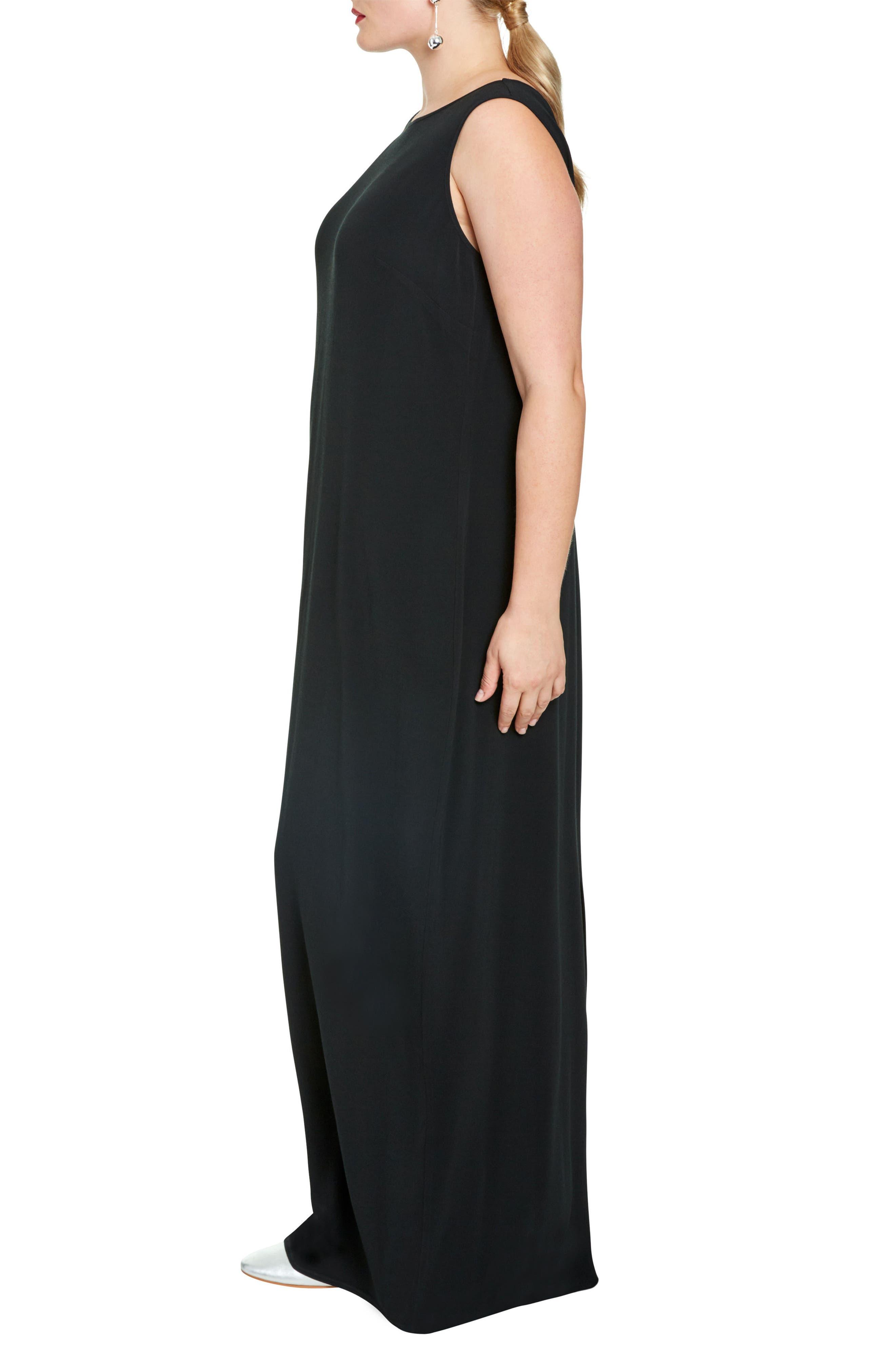 Alternate Image 3  - UNIVERSAL STANDARD Mera Crepe Gown (Plus Size)
