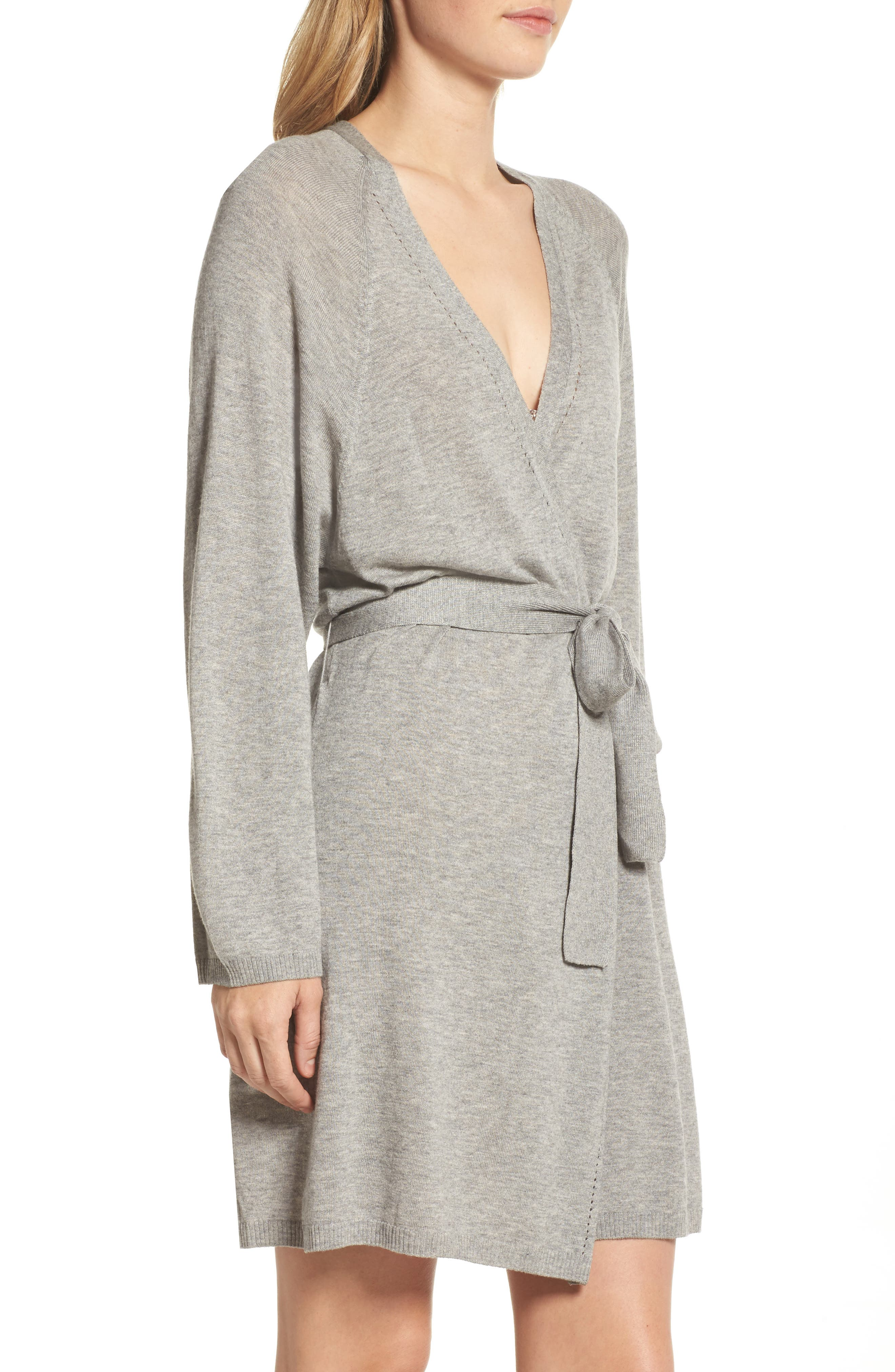 Alternate Image 3  - skin Mina Short Robe