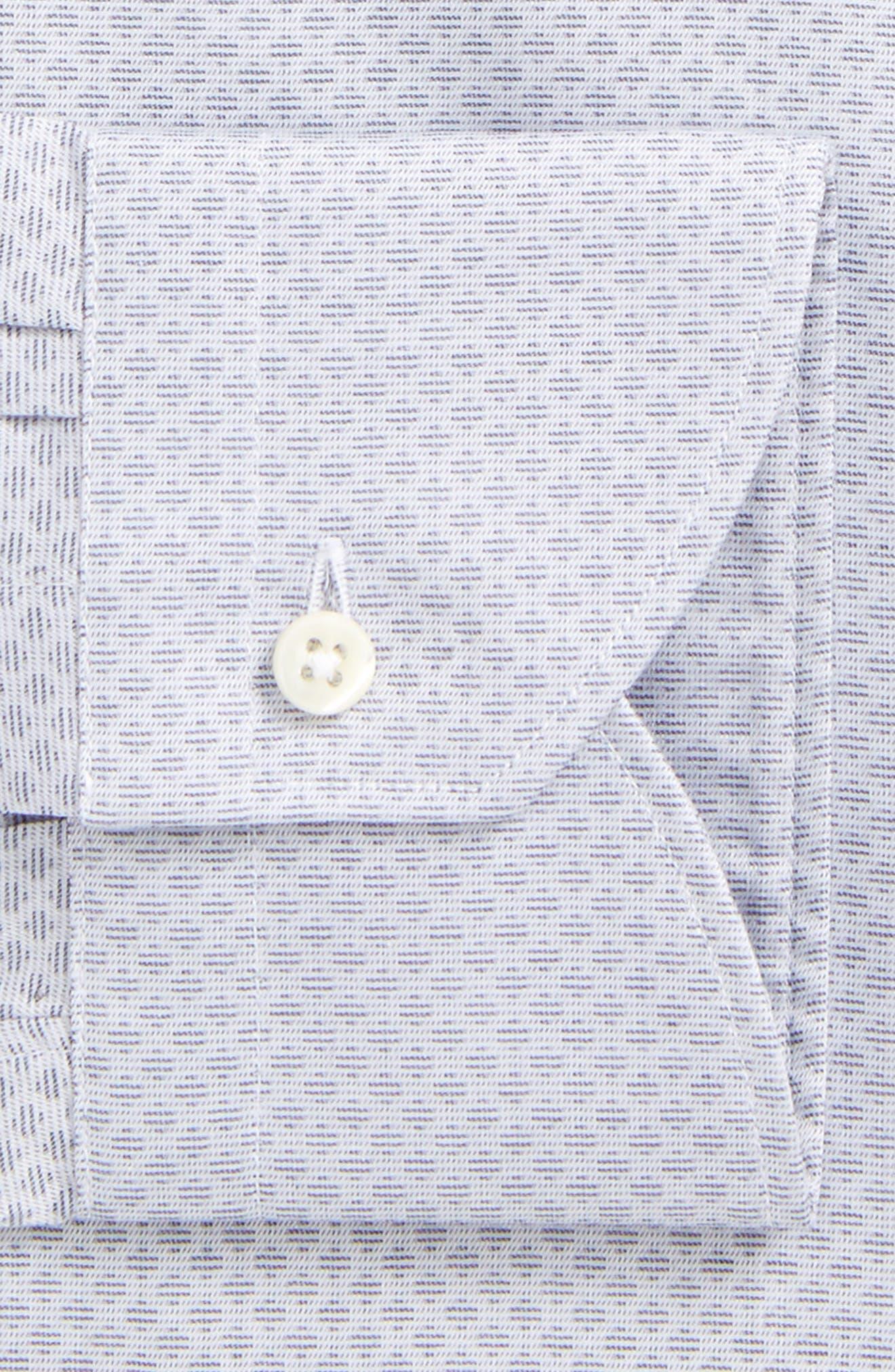 Regular Fit Geometric Dress Shirt,                             Alternate thumbnail 2, color,                             Grey