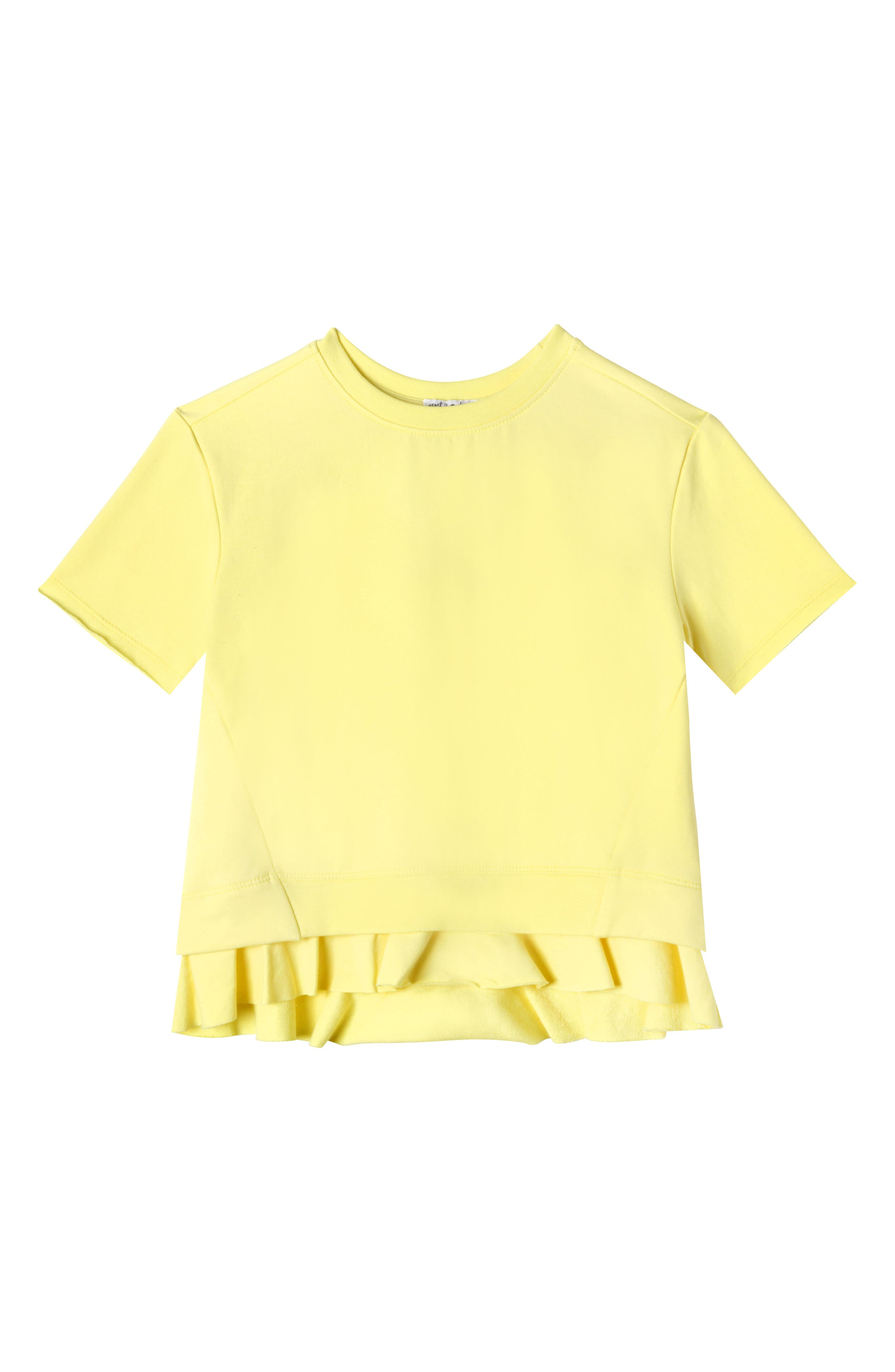 Art & Eden Ruffle Pullover (Toddler Girls & Little Girls)