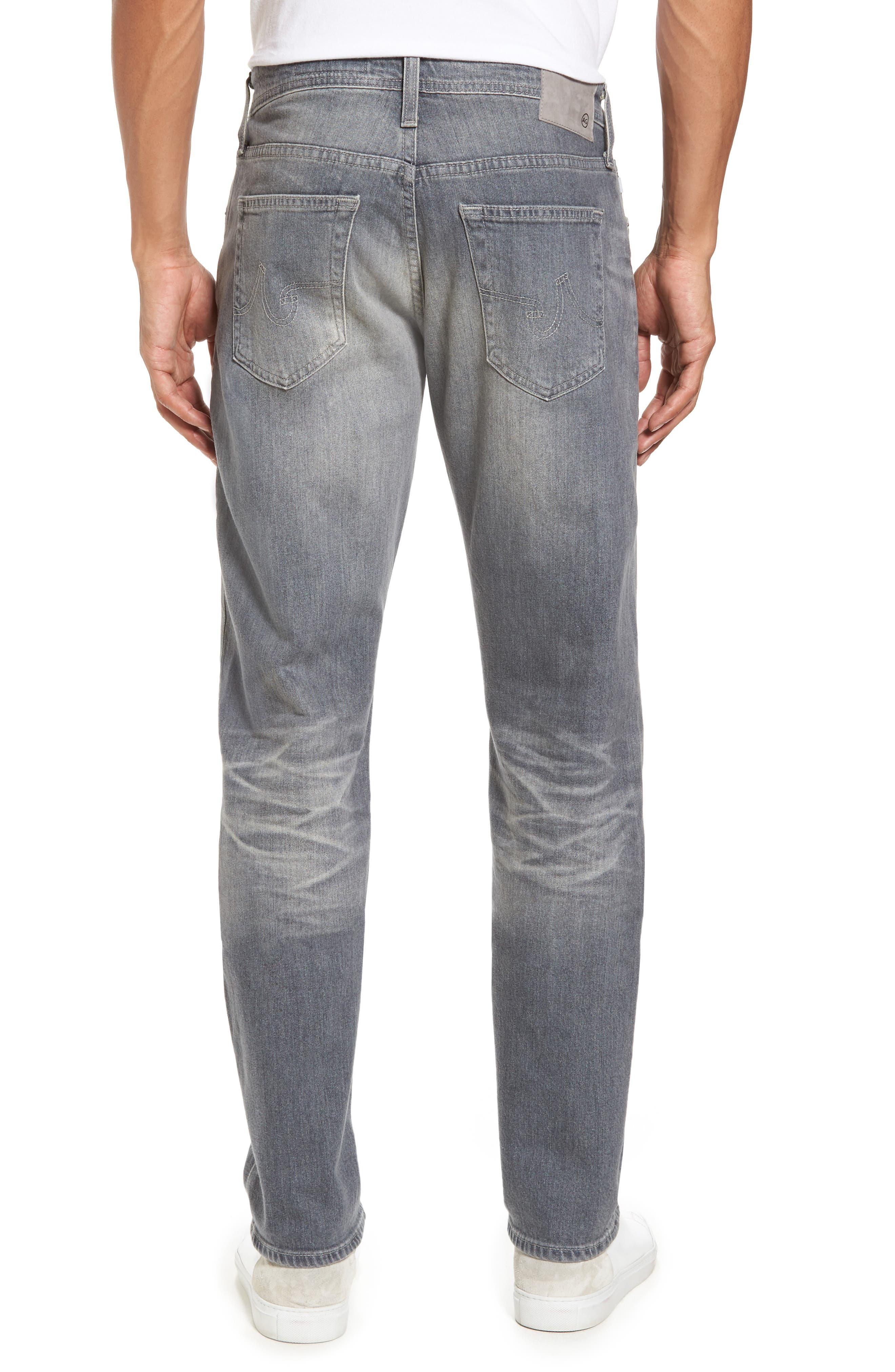 Alternate Image 2  - AG Graduate Slim Straight Fit Jeans (13 Years Fortress)