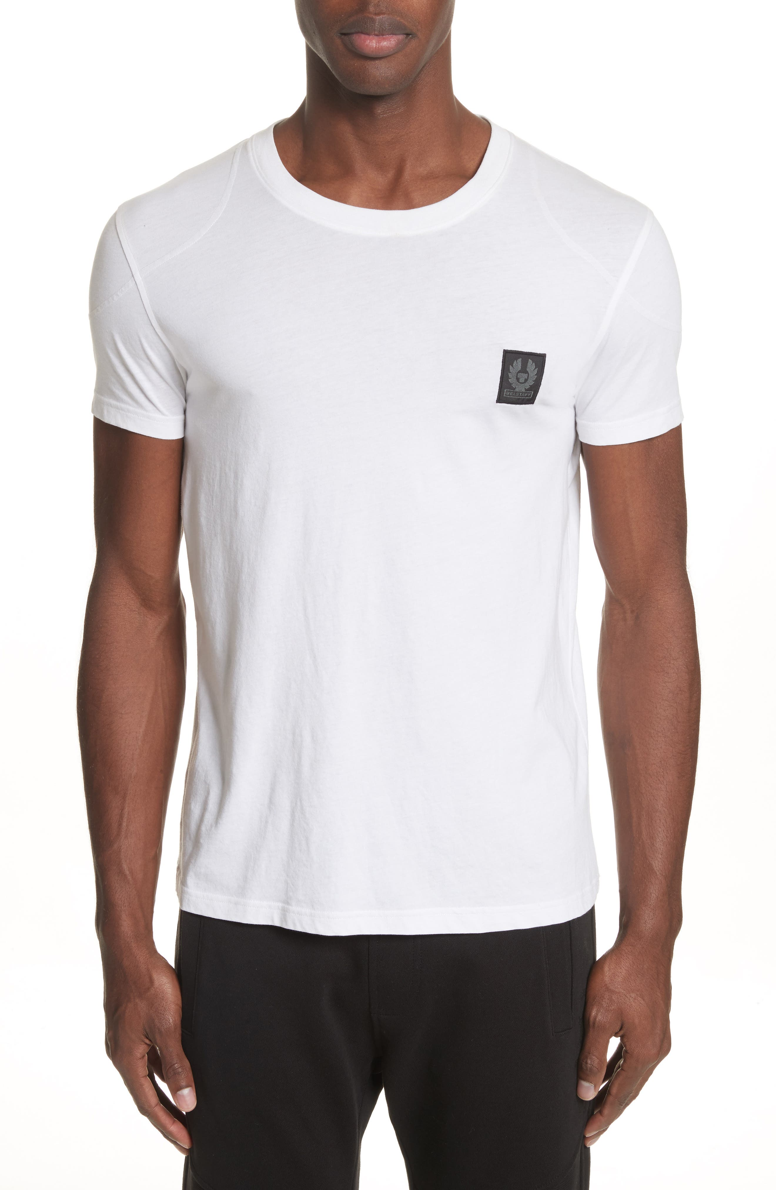 Throwley Logo T-Shirt,                             Main thumbnail 1, color,                             White